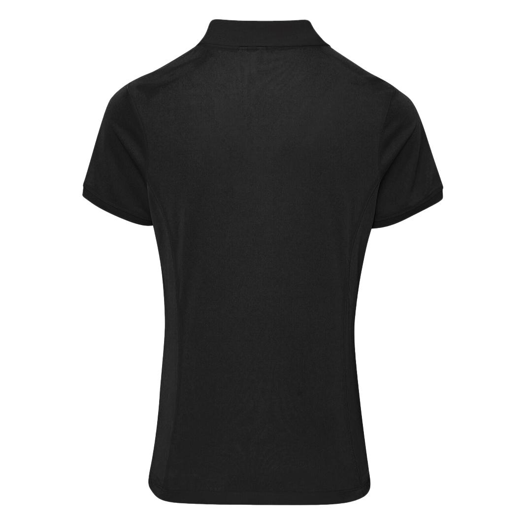 Premier Womens/Ladies Coolchecker Short Sleeve Pique Polo T-Shirt (2XL) (Burgundy)