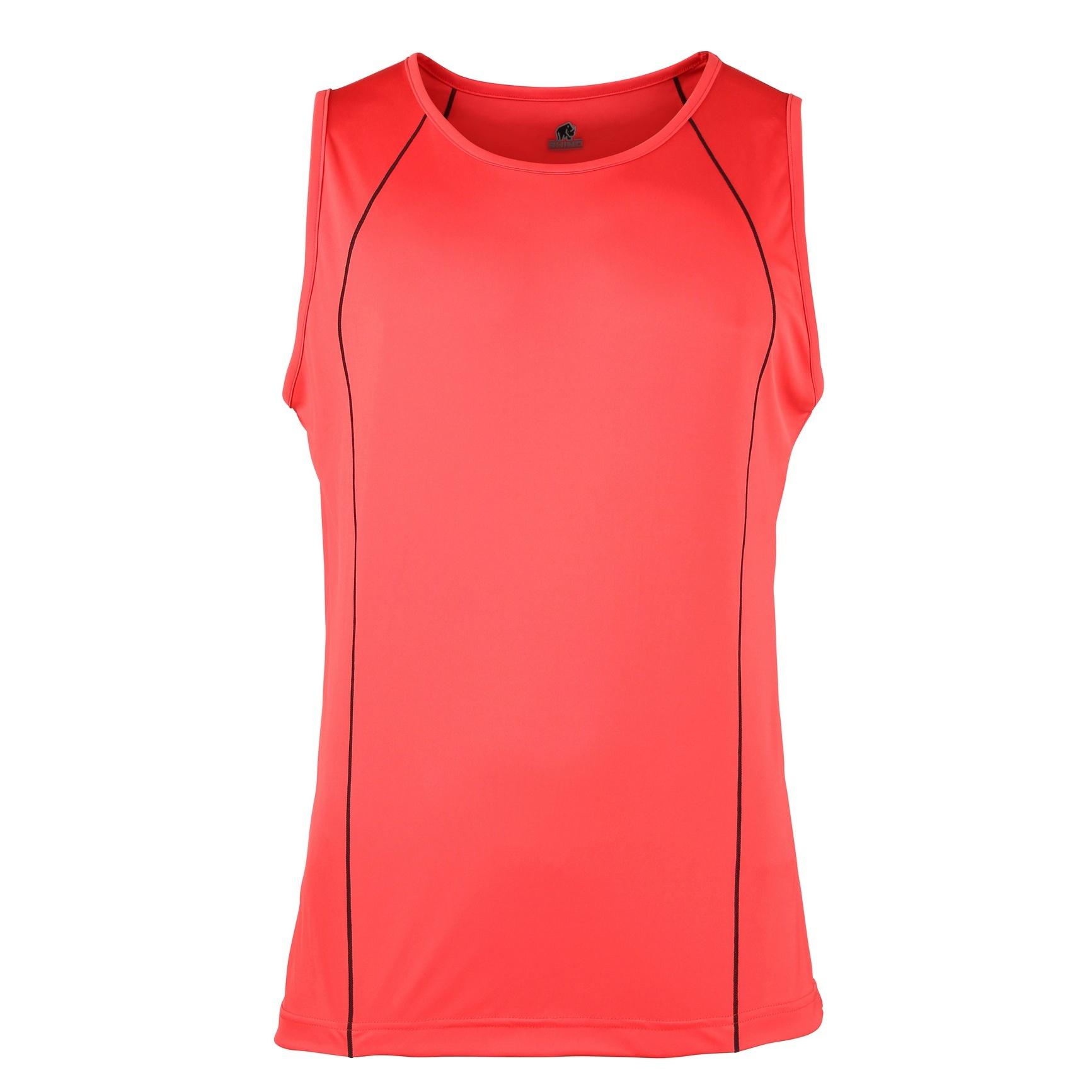 Rhino Mens Rio Sport Rugby Vest (XL) (Red/ Black)