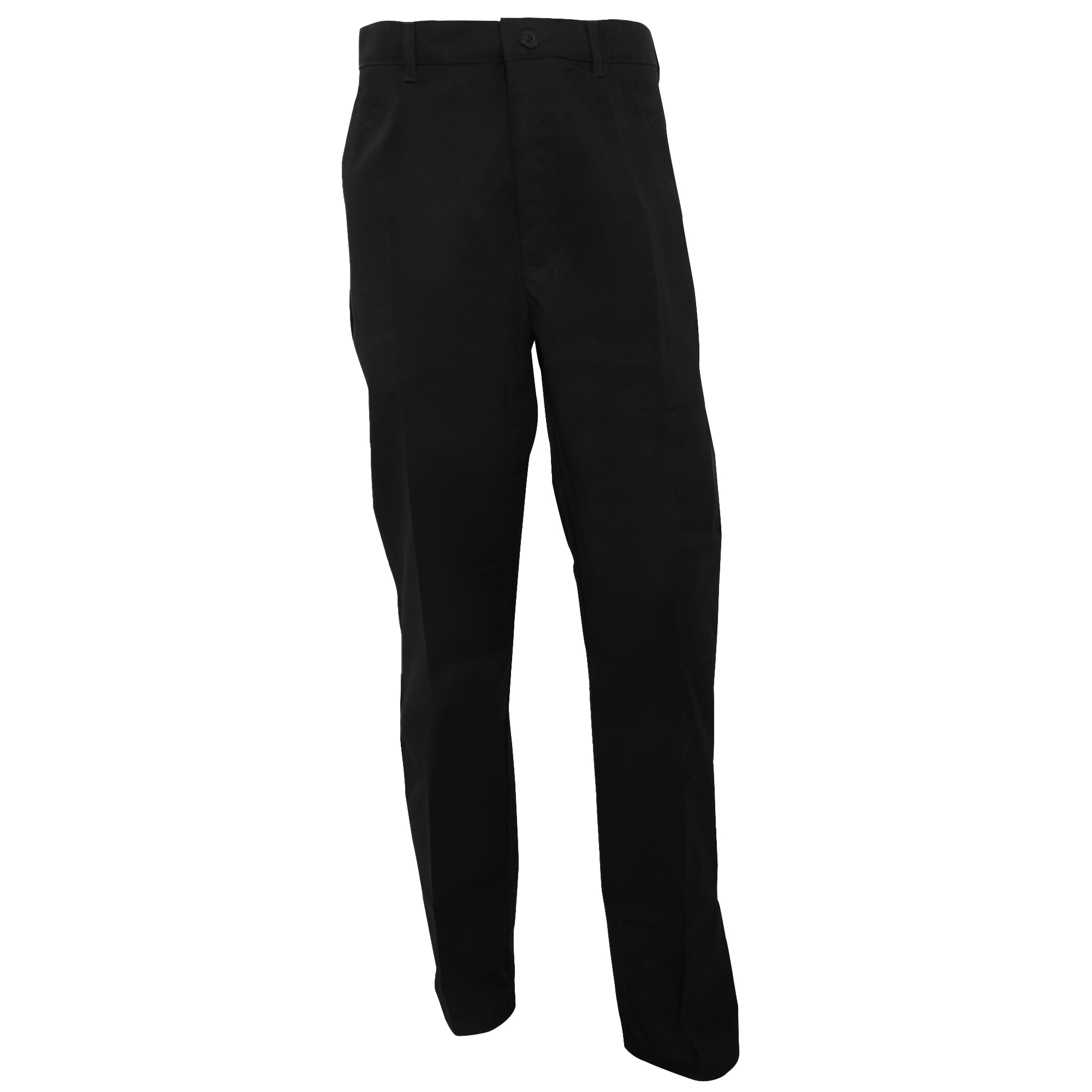 RTY Workwear Mens Pleated Trousers (48T) (Black)