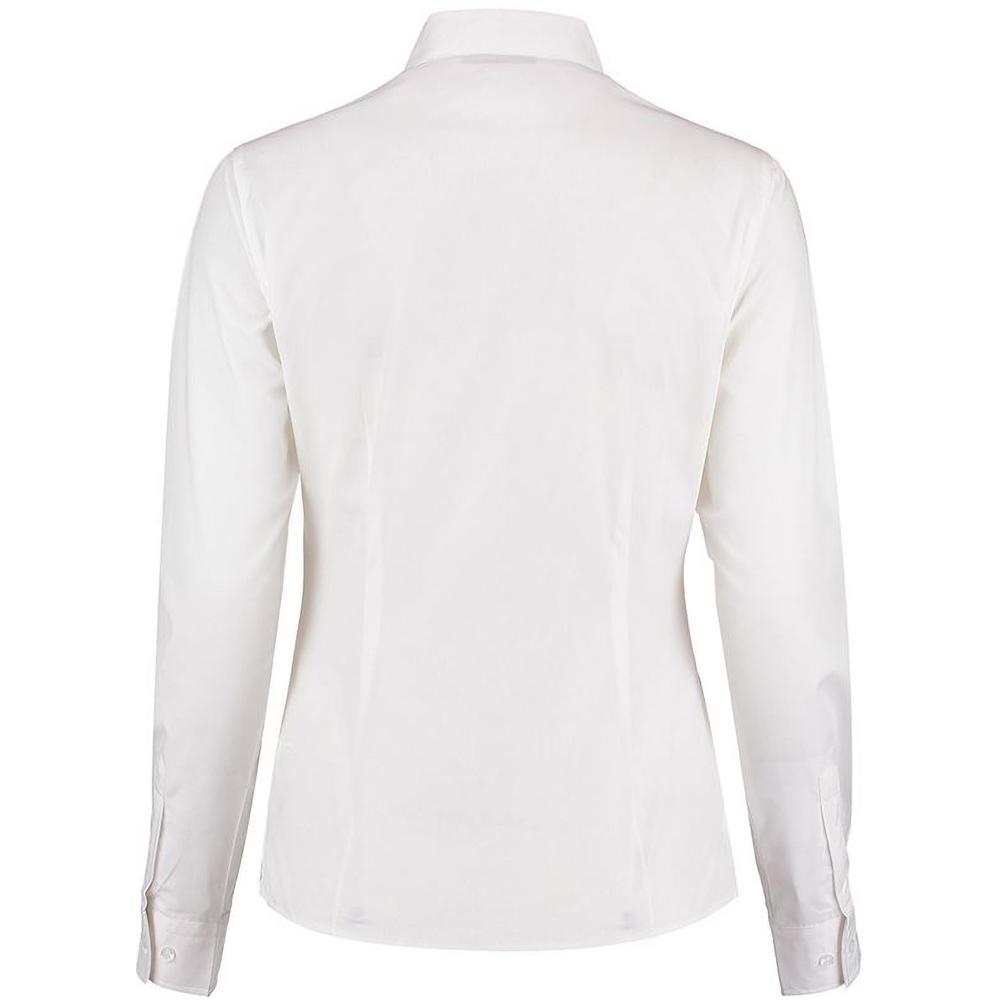 Bluse mit Stehkragen RW4507 Langarm Kustom Kit Damen Hemd