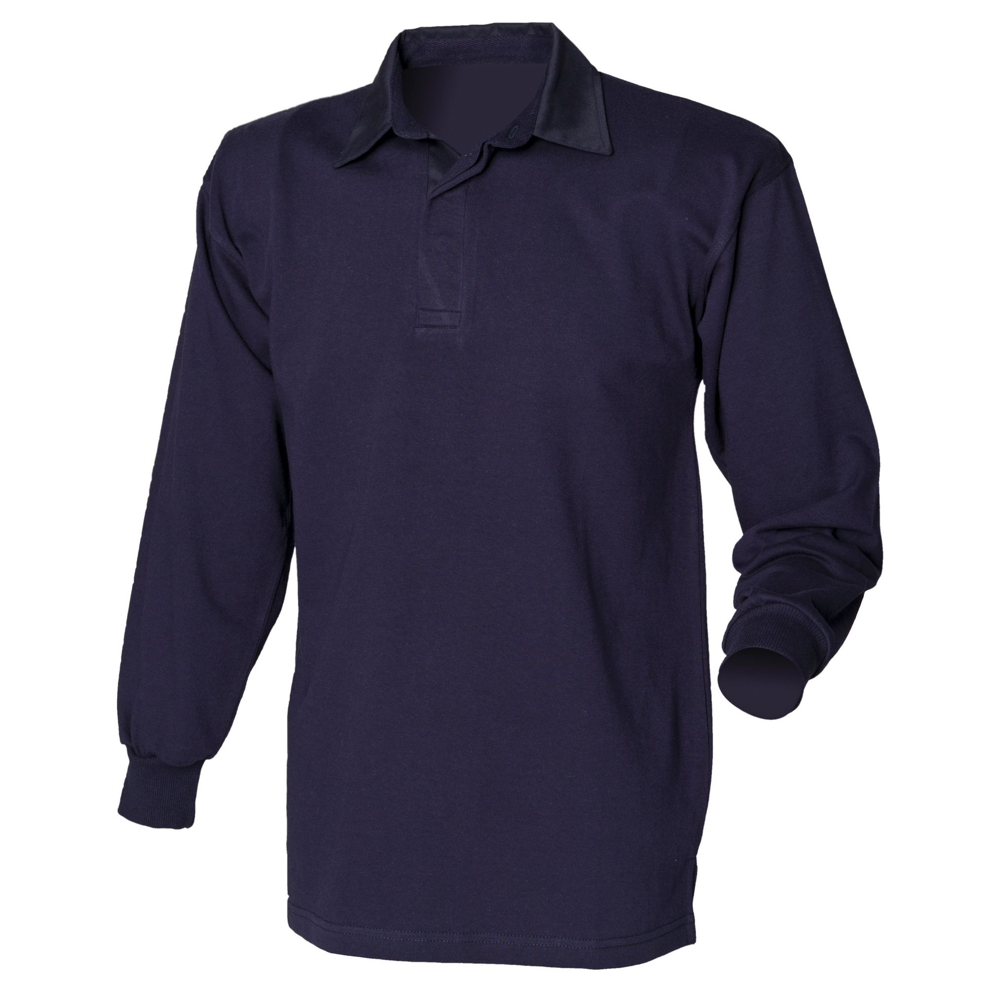 Front Row Long Sleeve Classic Rugby Polo Shirt T-shirt Szs S-4XL RW478
