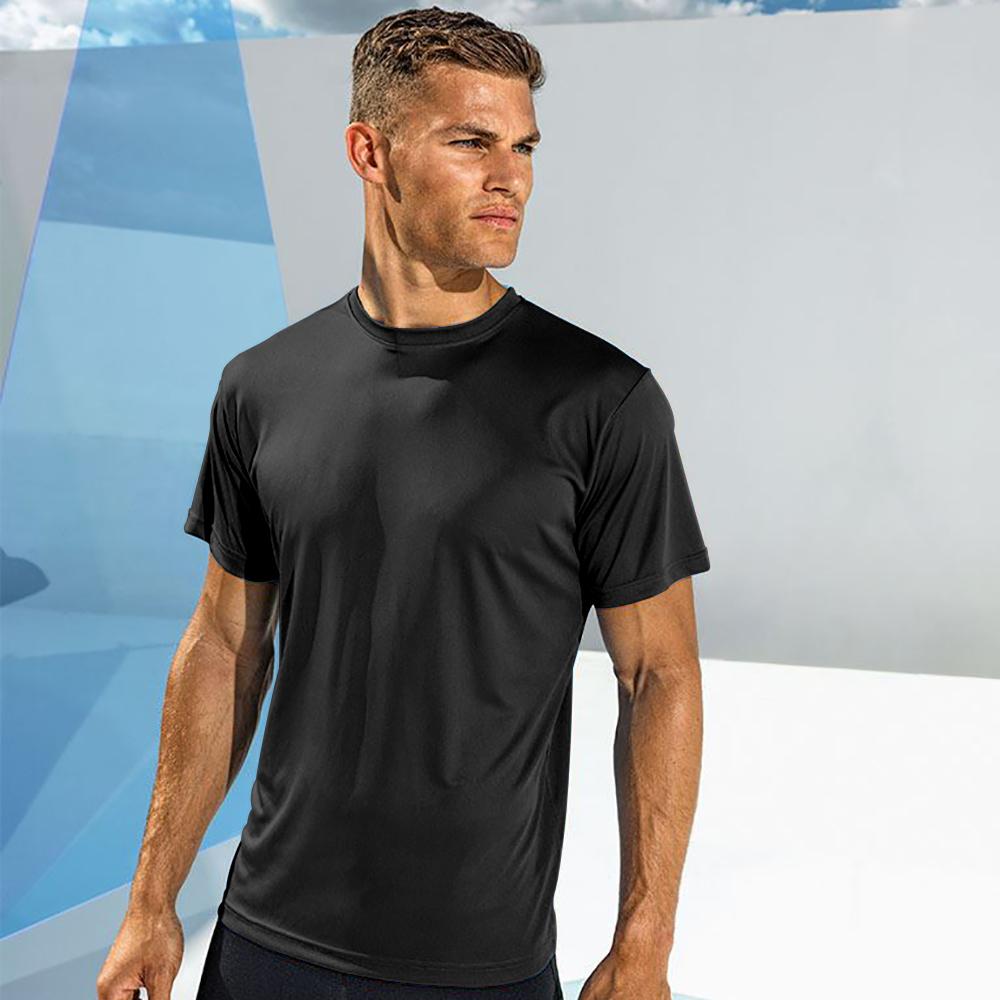 Tri Dri Mens Short Sleeve Lightweight Fitness T-Shirt (L) (Lightning Yellow)