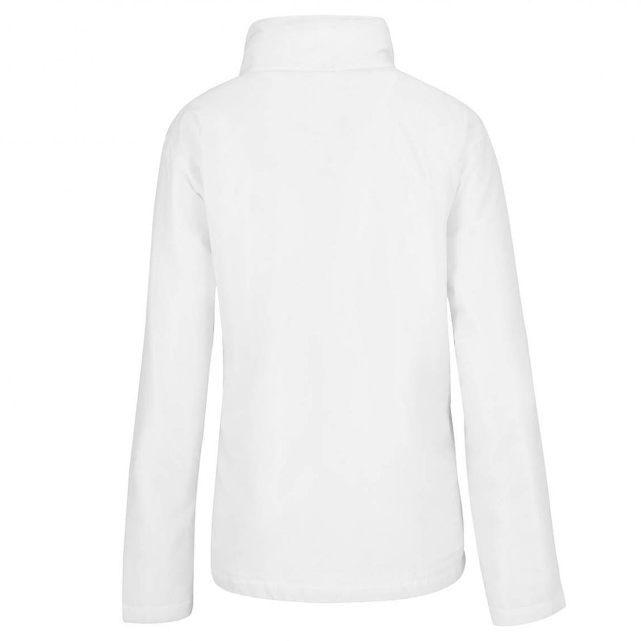 B&C Womens/Ladies Multi Active Hooded Jacket (XS) (Red/ Warm Grey)