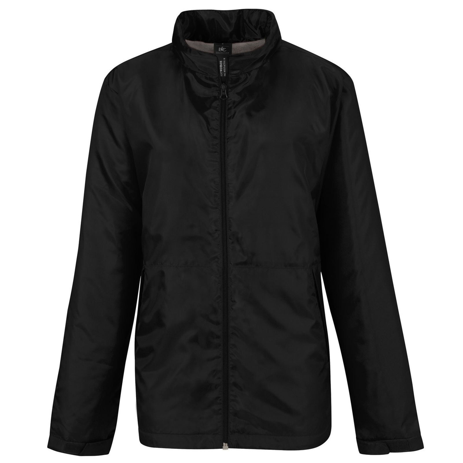 B&C Womens/Ladies Multi Active Hooded Jacket (M) (White/ White)
