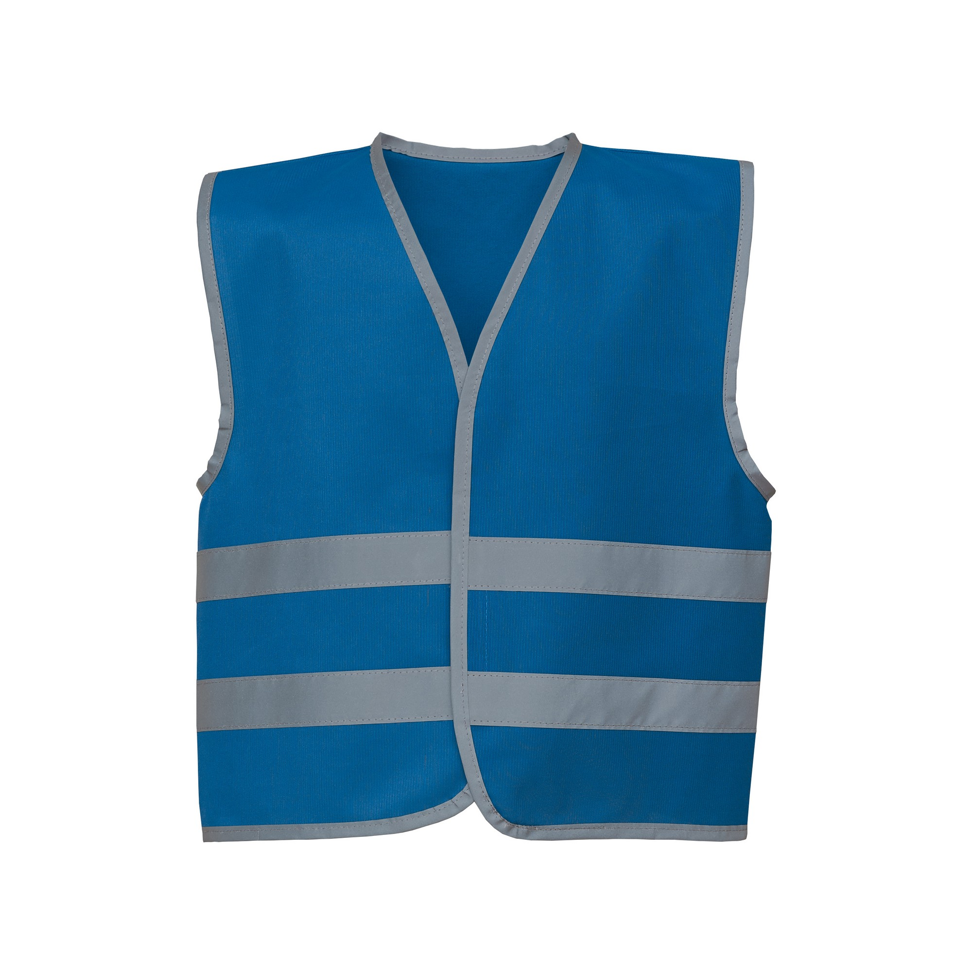 Yoko Hi-Vis Childrens/Kids Reflective Border Waistcoat (M) (Royal Blue)
