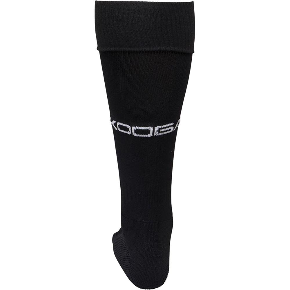 KooGa Boys/Mens Essential Rugby Socks (S) (Black/ White)