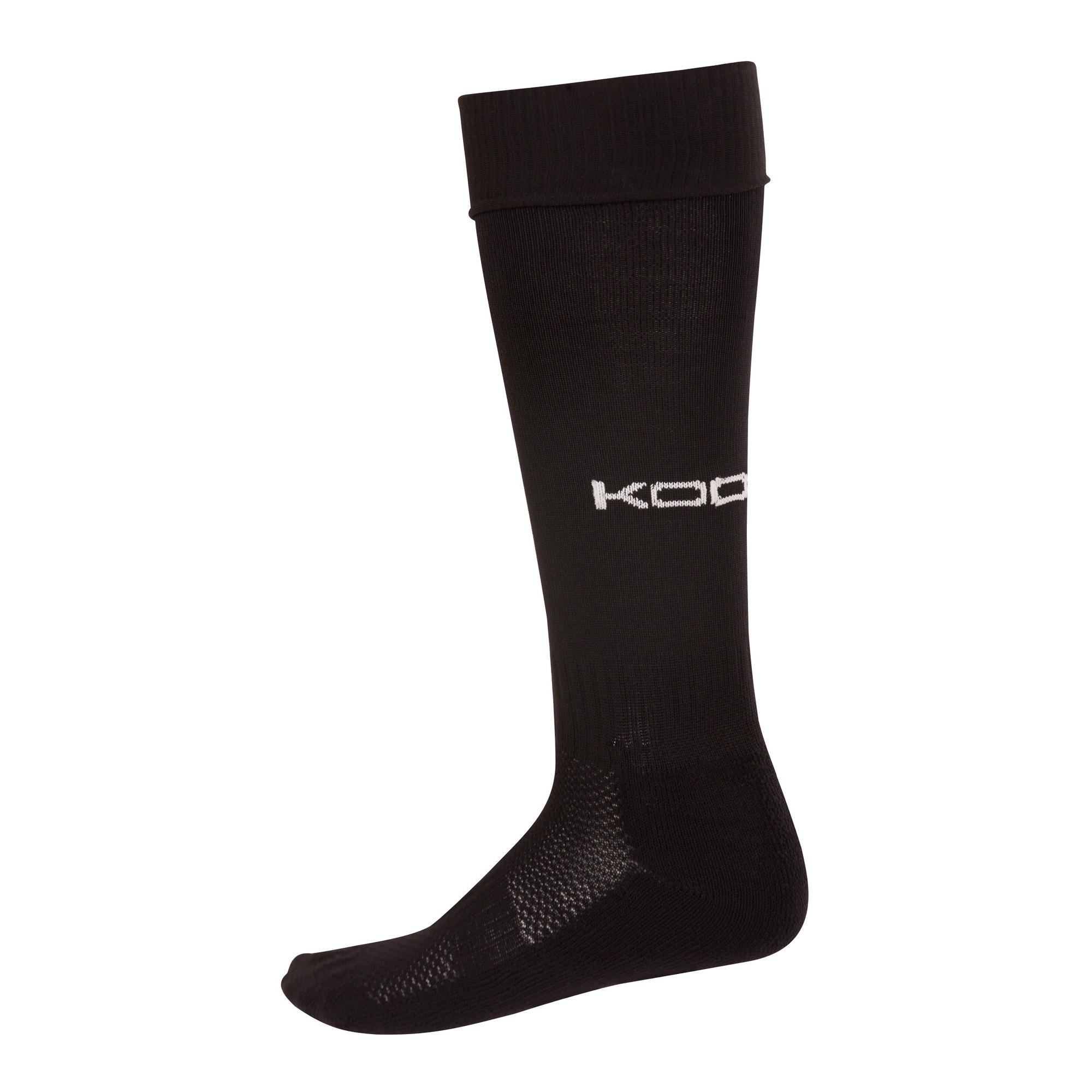 KooGa Boys/Mens Essential Rugby Socks (S) (Black)