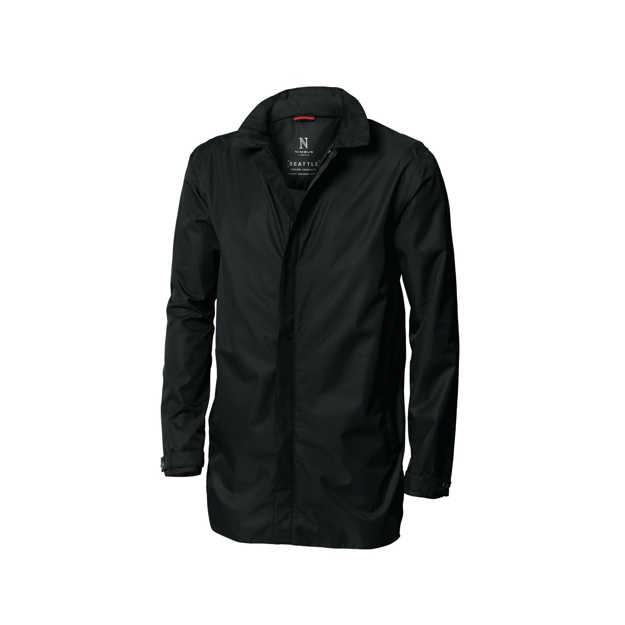 Nimbus Mens Seattle Waterproof Business Coat (XL) (Black)