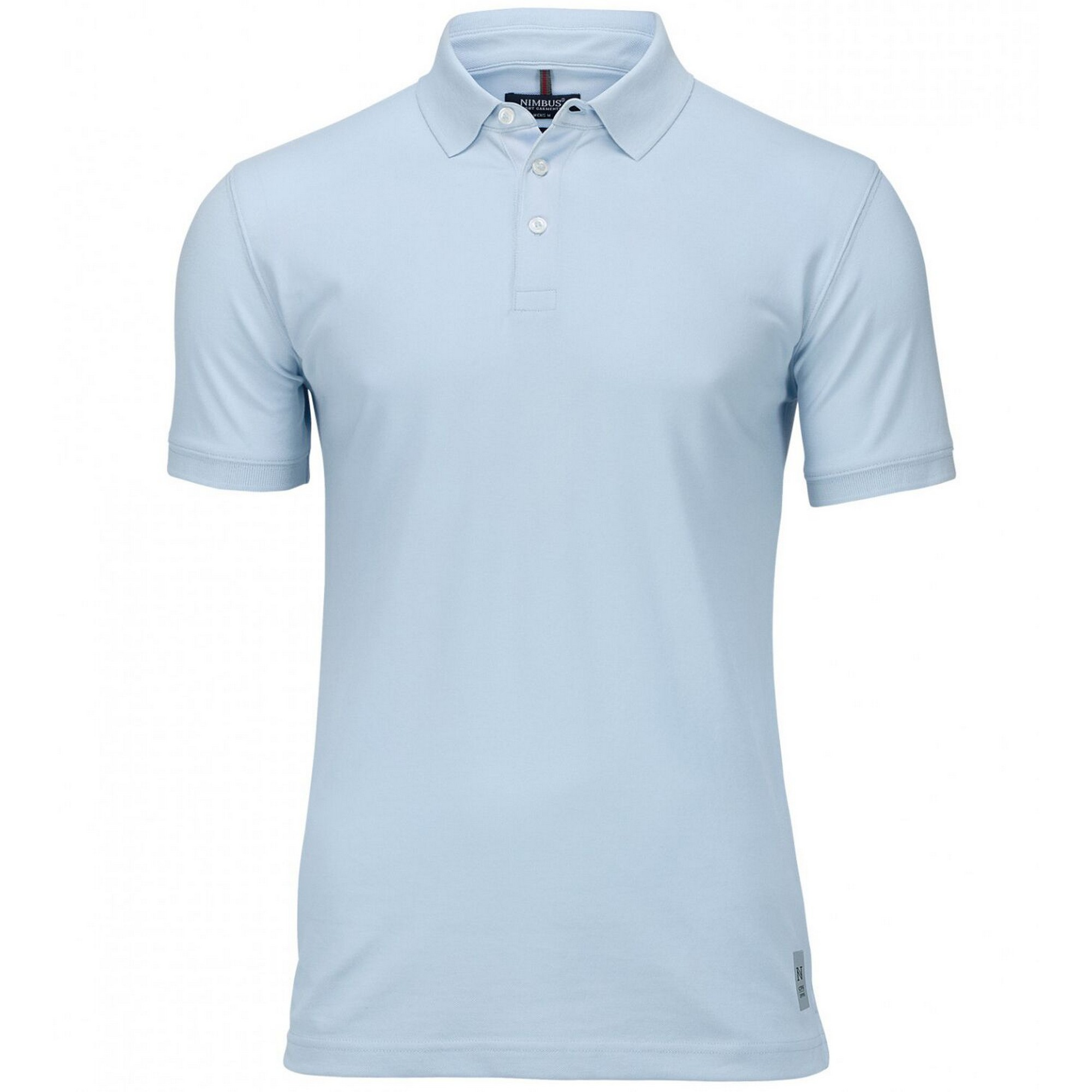 Nimbus Mens Harvard Stretch Deluxe Polo Shirt (2XL) (Sky Blue)