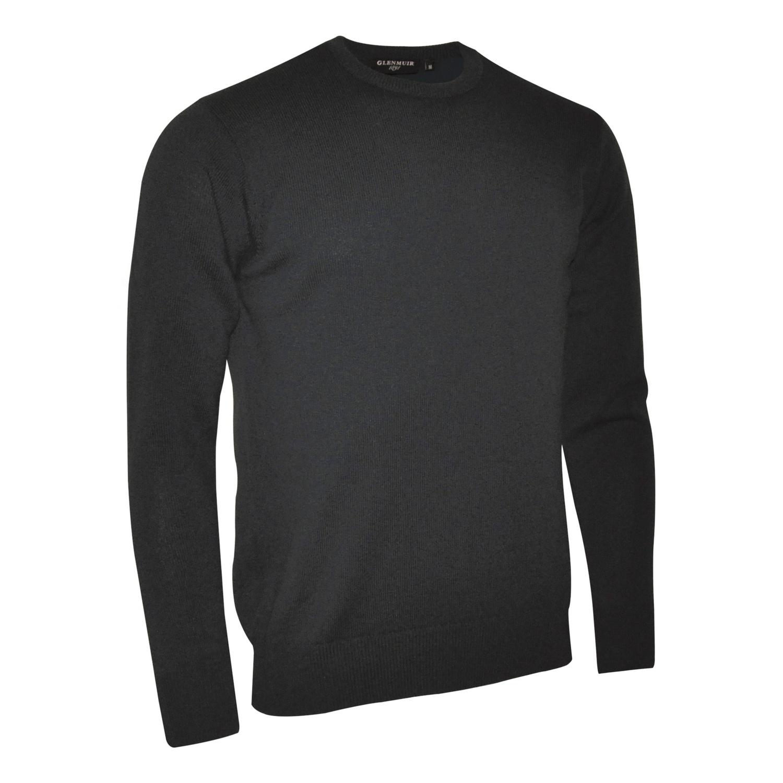 Glenmuir Morar Mens Crew Neck Sweater (L) (Navy)