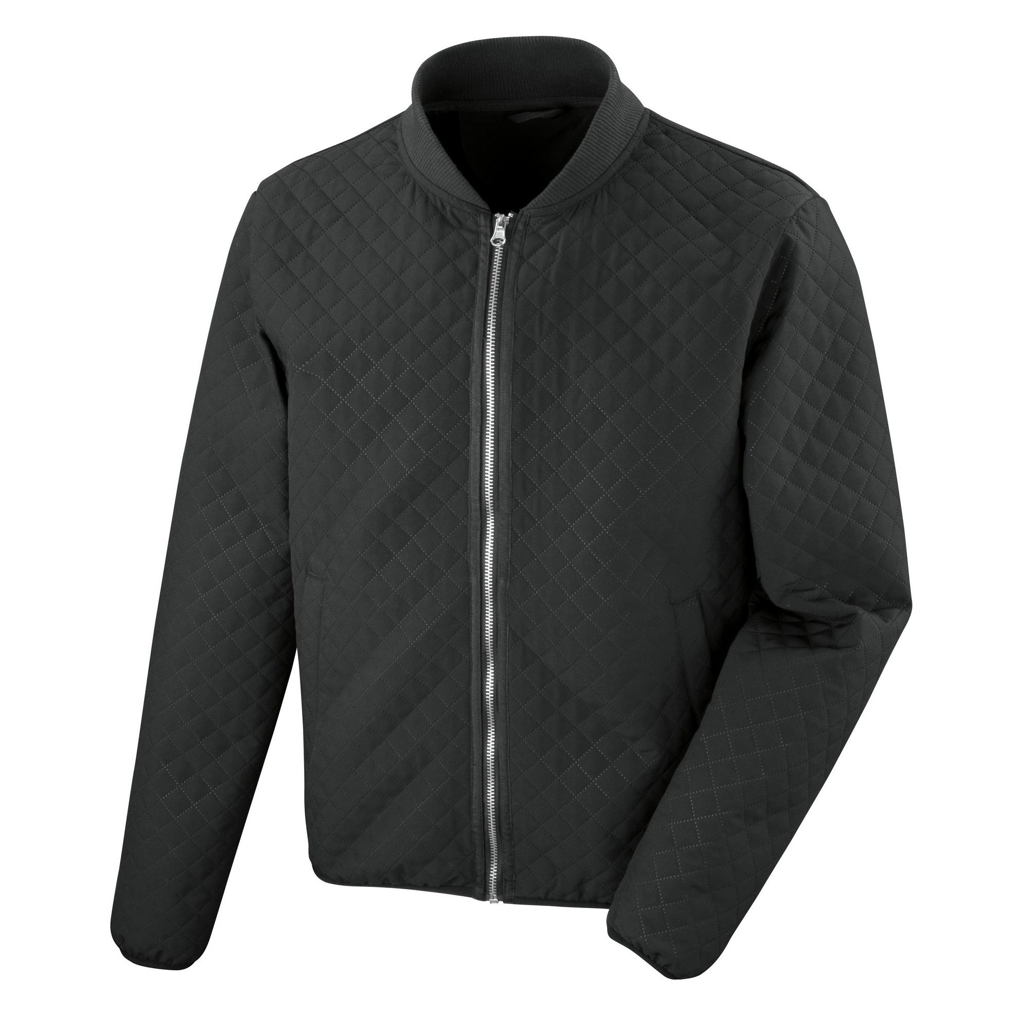 Result Urban Outdoor Womens/Ladies Phantom Softshell Bomber Jacket (L) (Black)
