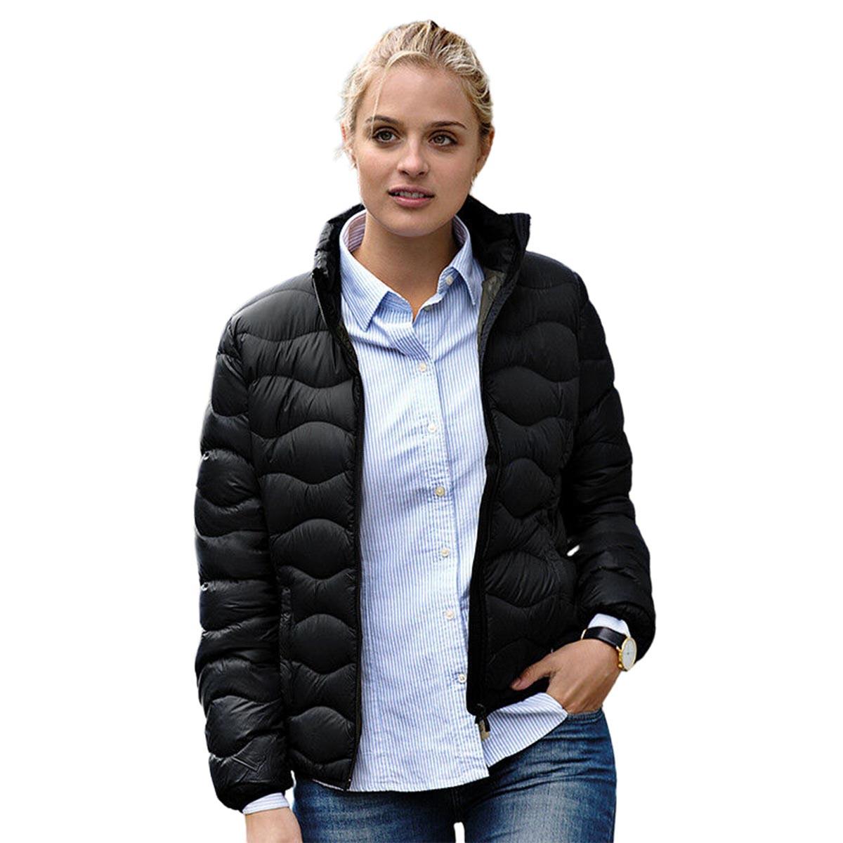 Nimbus Womens/Ladies Sierra Padded Water Resistant Down Jacket (S) (Navy)