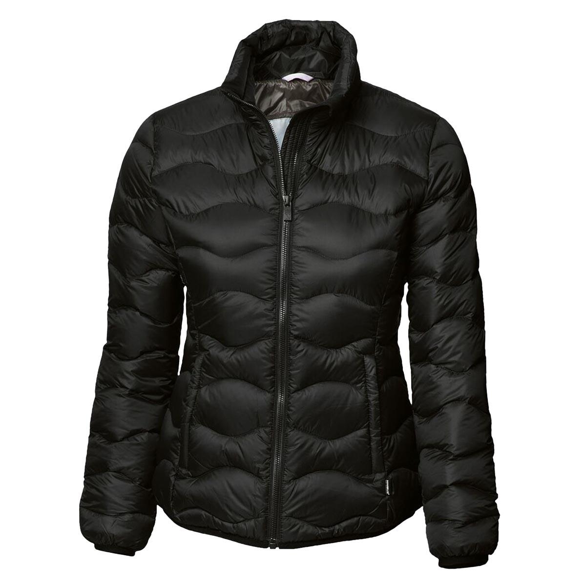 Nimbus Womens/Ladies Sierra Padded Water Resistant Down Jacket (XS) (Black)