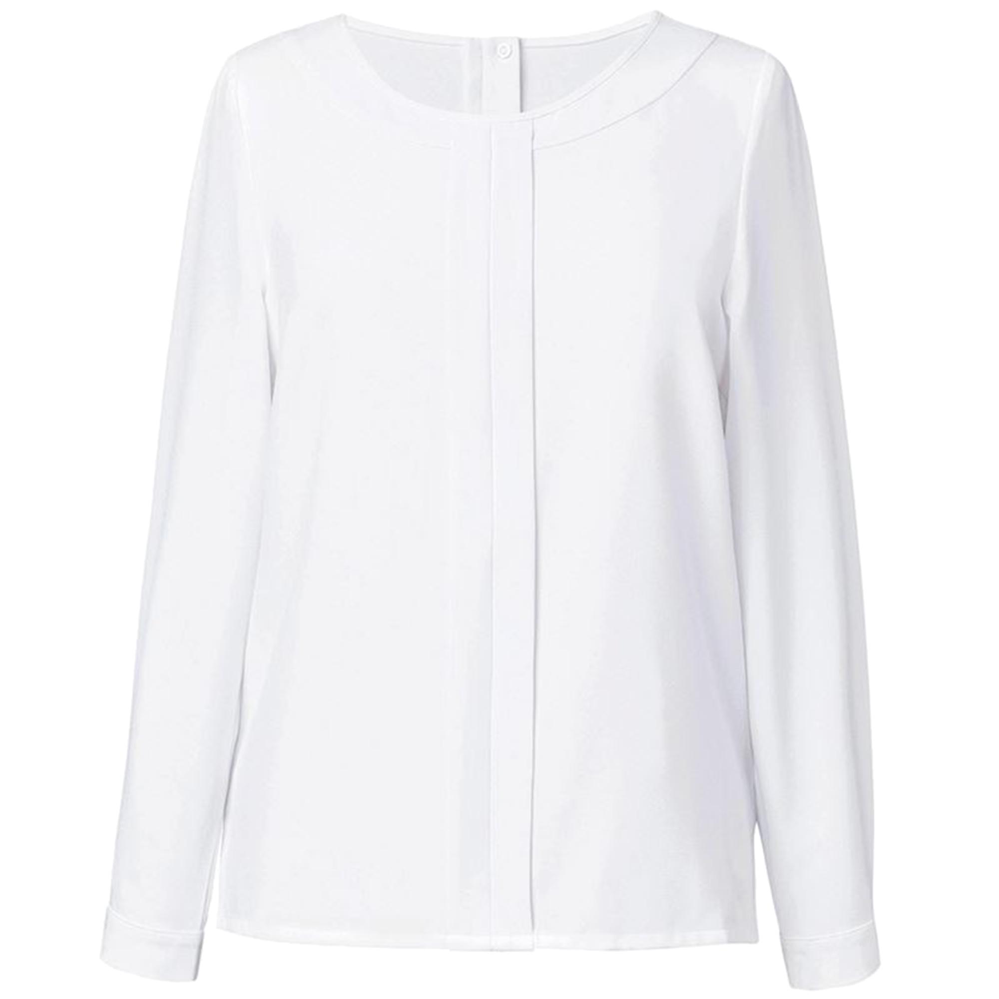 Brook-Taverner-Blusa-de-manga-larga-modelo-Riola-para-mujer-RW5377