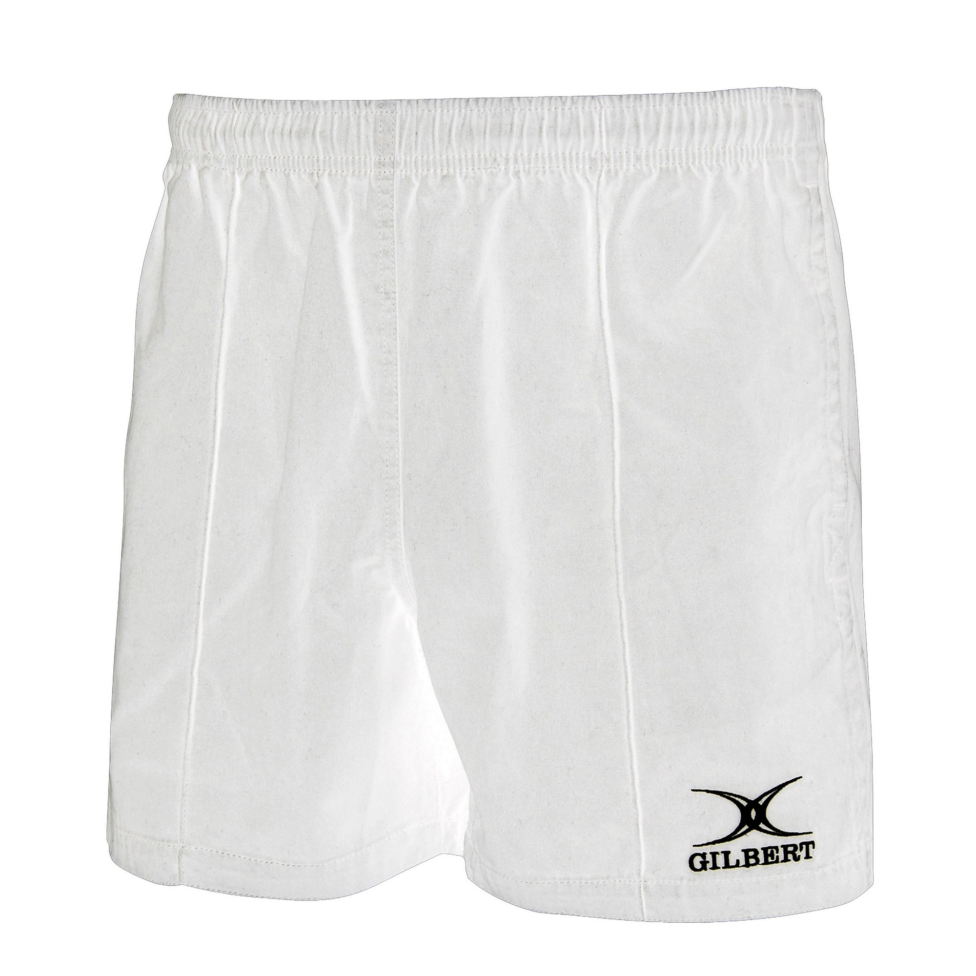 Gilbert Rugby Childrens/Kids Kiwi Pro Rugby Shorts (7-8 Years) (White)