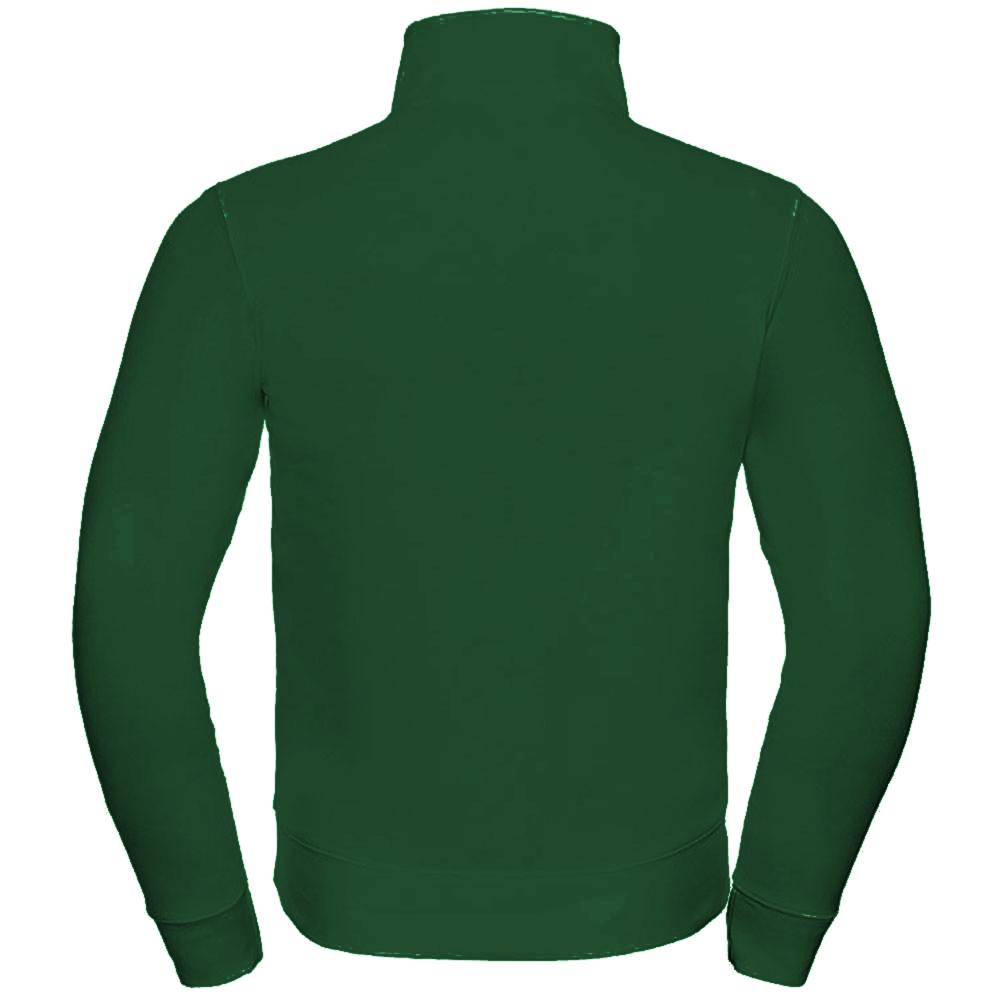 Russell Mens Authentic Full Zip Sweatshirt Jacket (L) (Bright Royal)
