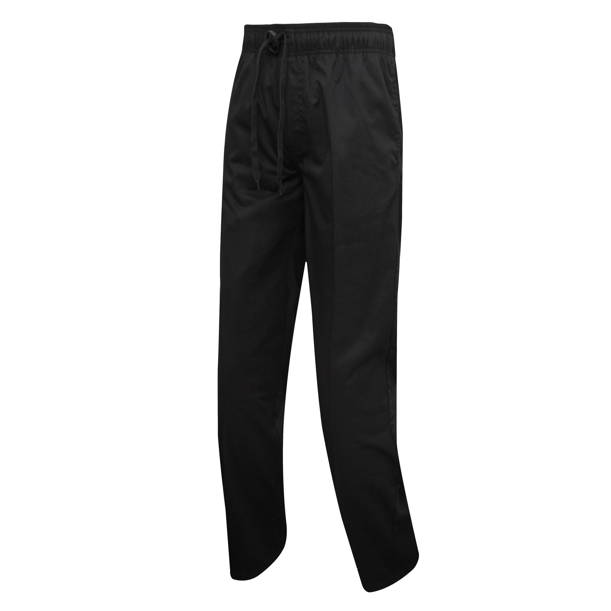 60a05ef473c Premier Mens Chefs Select Slim Leg Trousers Utrw5521 6 XS Black