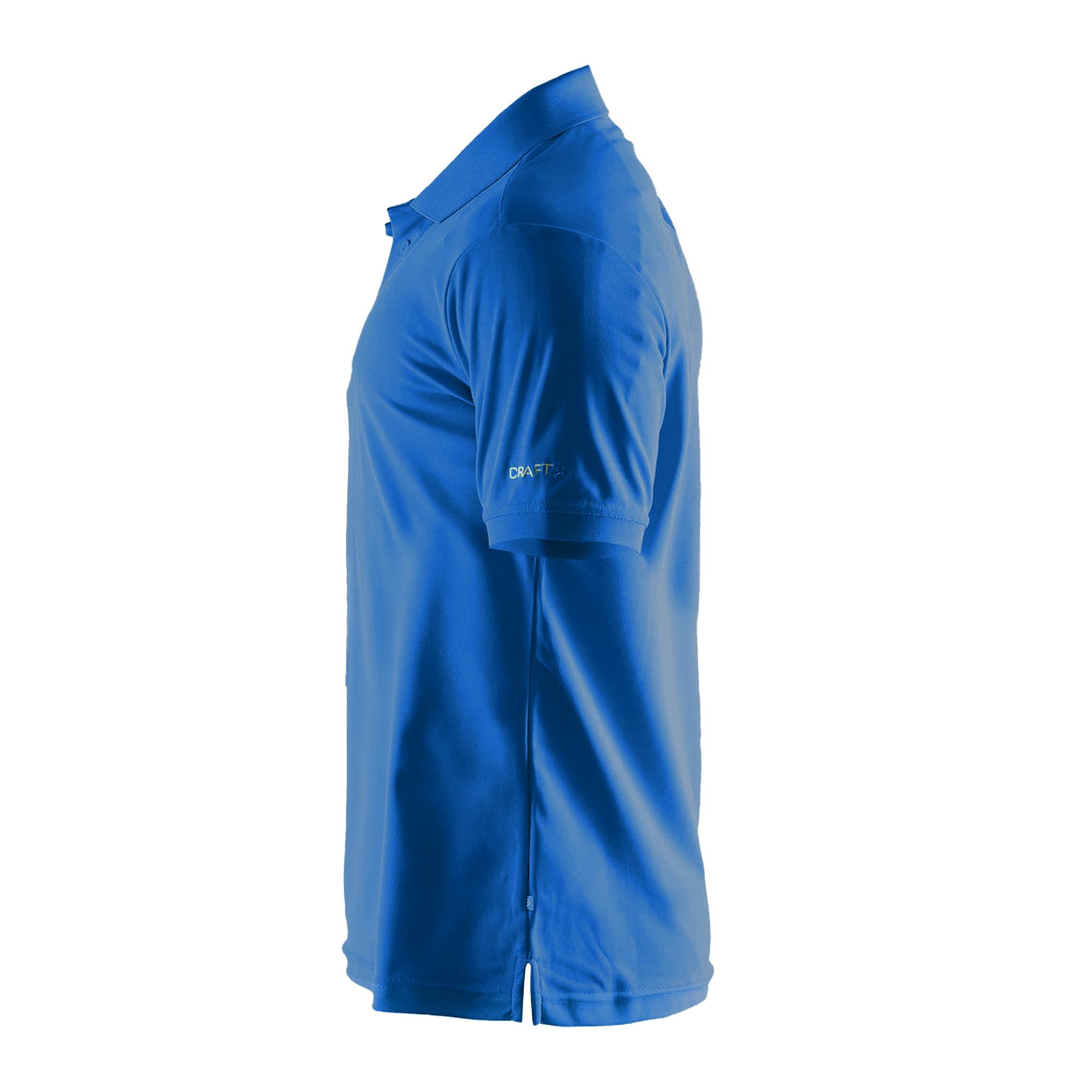 Craft Mens Classic Pique Short Sleeve Polo Shirt (2XL) (White)