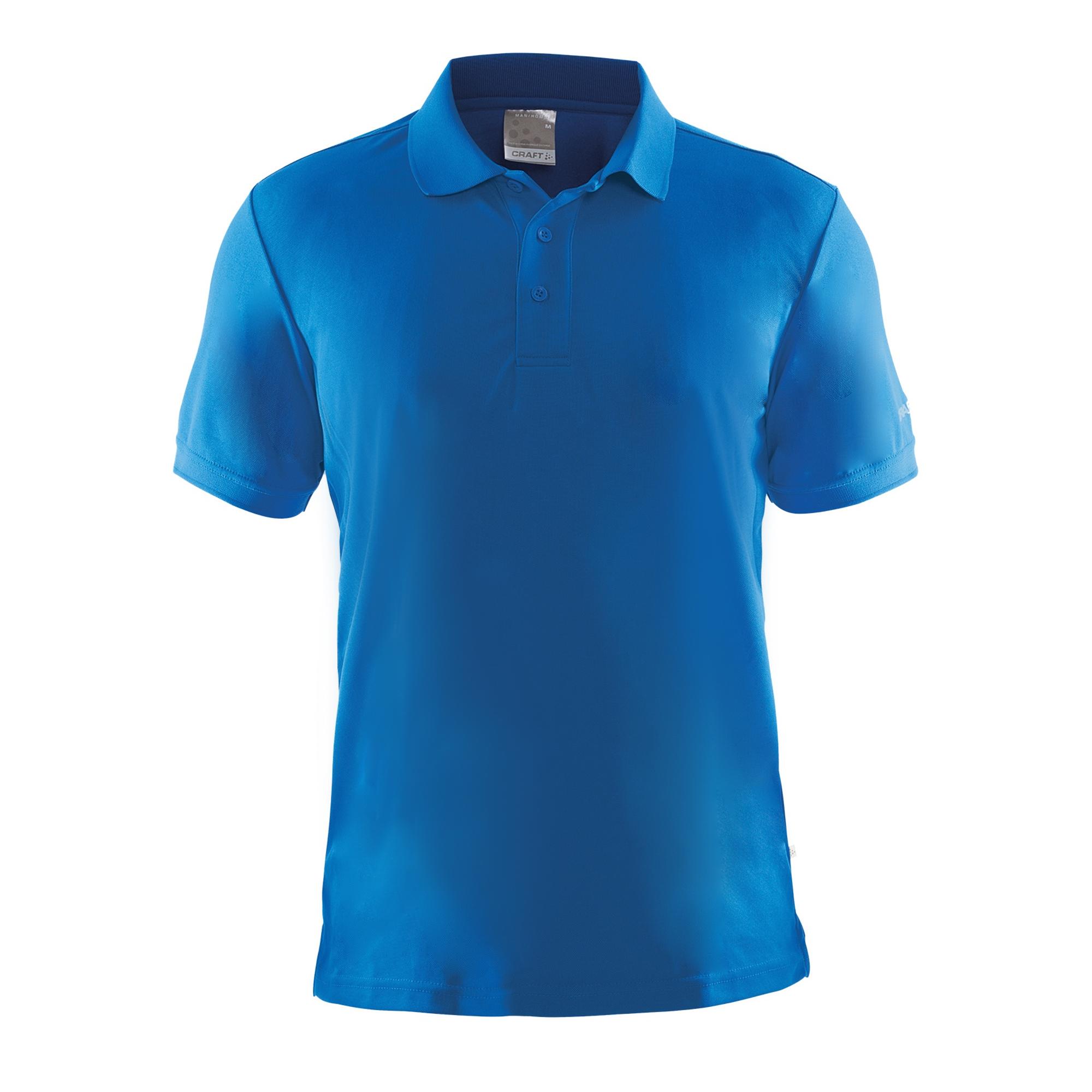 Craft Mens Classic Pique Short Sleeve Polo Shirt (XL) (Green)