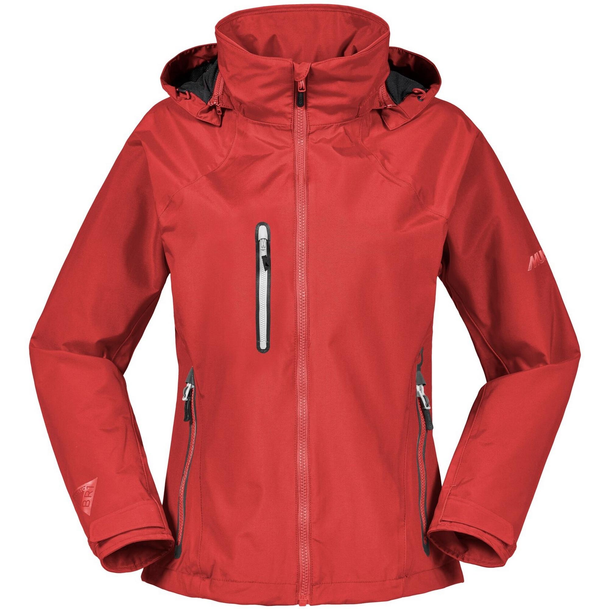 Musto Womens/Ladies Sardinia II BR1 Jacket (8) (True Red/Platinum)