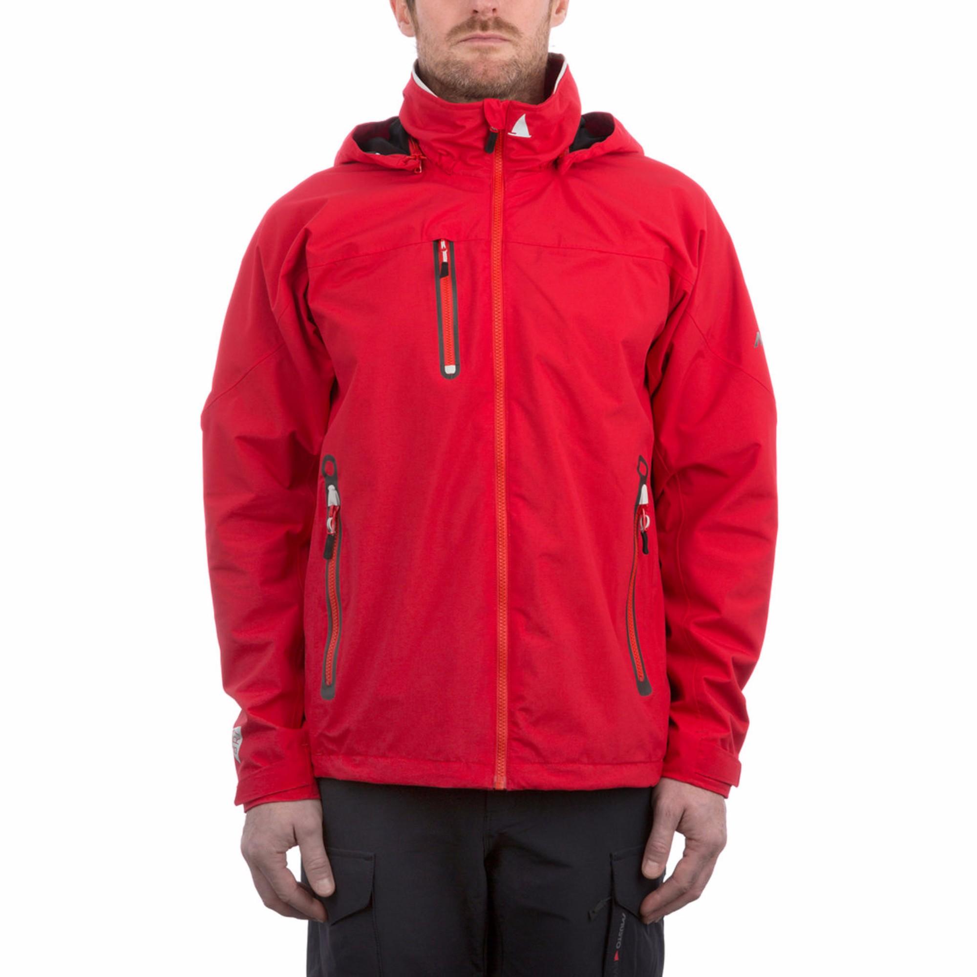 Musto Mens Sardinia II BR1 Jacket (S) (True Red/Platinum)