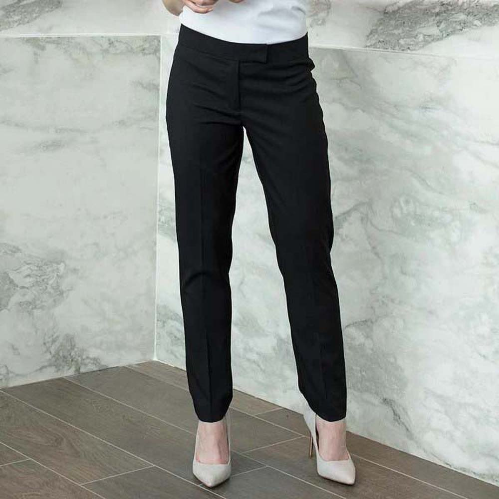 Henbury-Pantalon-a-jambe-effilee-Femme-RW5627 miniature 5