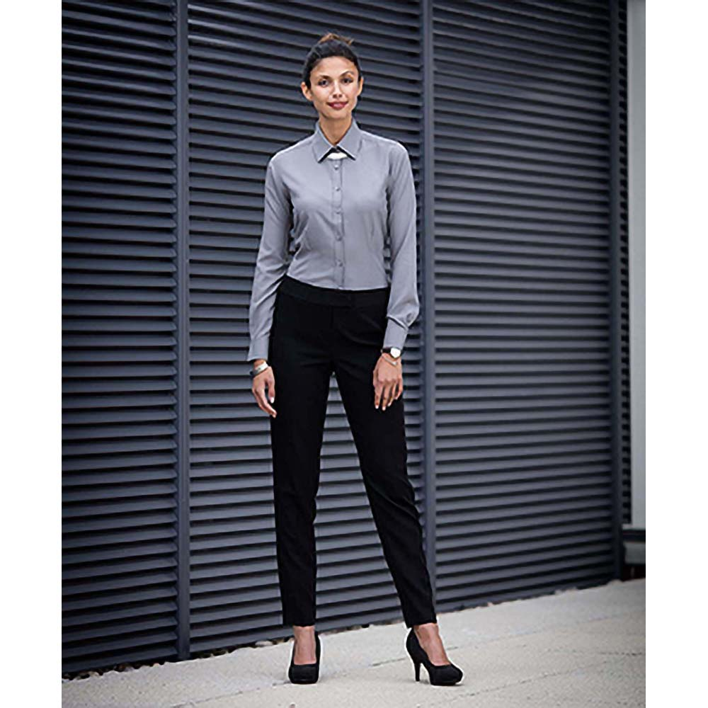 Henbury-Pantalon-a-jambe-effilee-Femme-RW5627 miniature 6