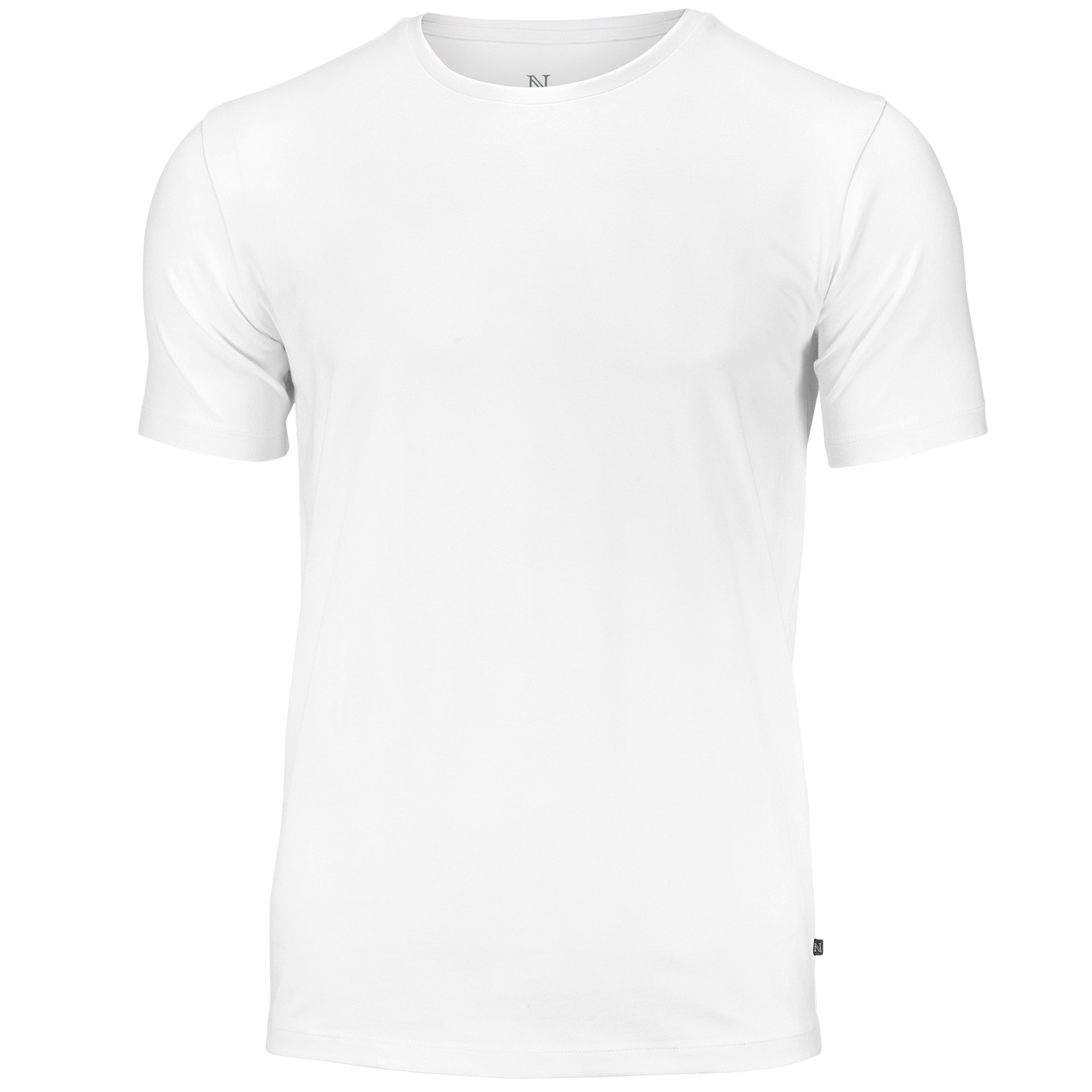 Nimbus Mens Montauk Essential Short Sleeve T-Shirt (S) (White)