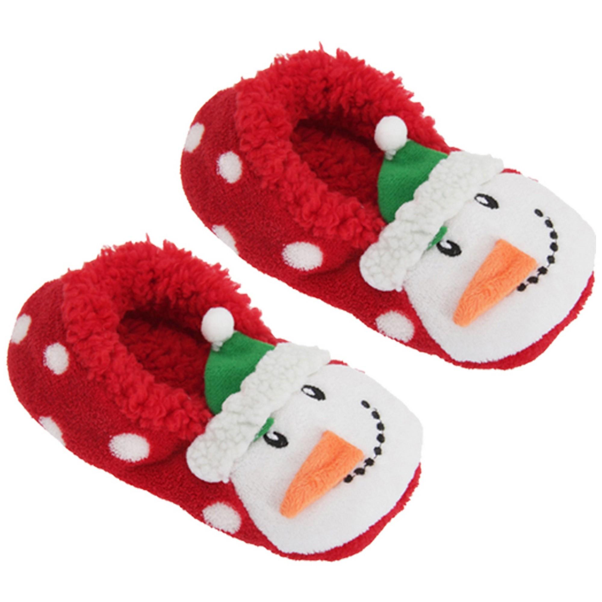 Christmas Shop - Zapatillas de estar por casa para mujer (RW5796)