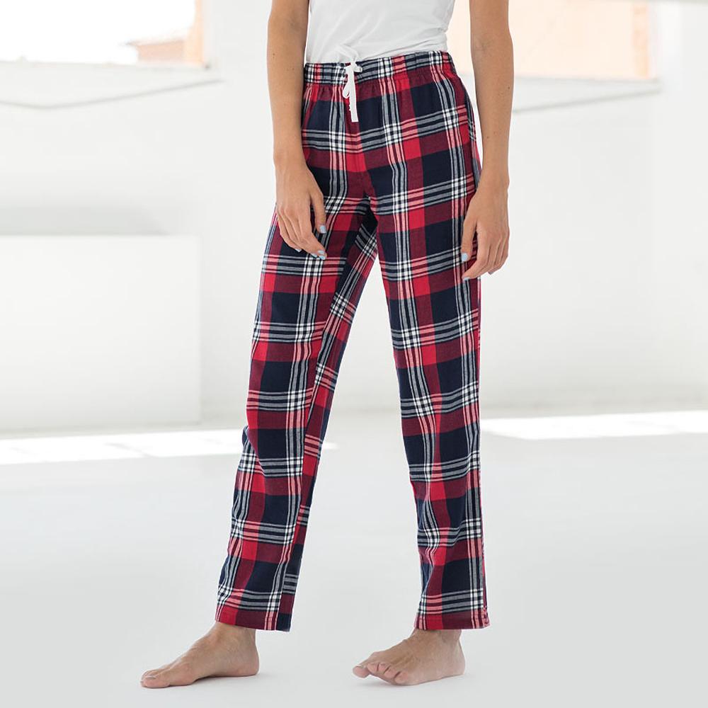 Skinnifit-Pantalon-de-pyjama-Tartan-femme-RW6025 miniature 8