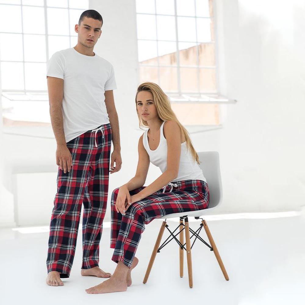 Skinnifit-Pantalon-de-pyjama-Tartan-femme-RW6025 miniature 9