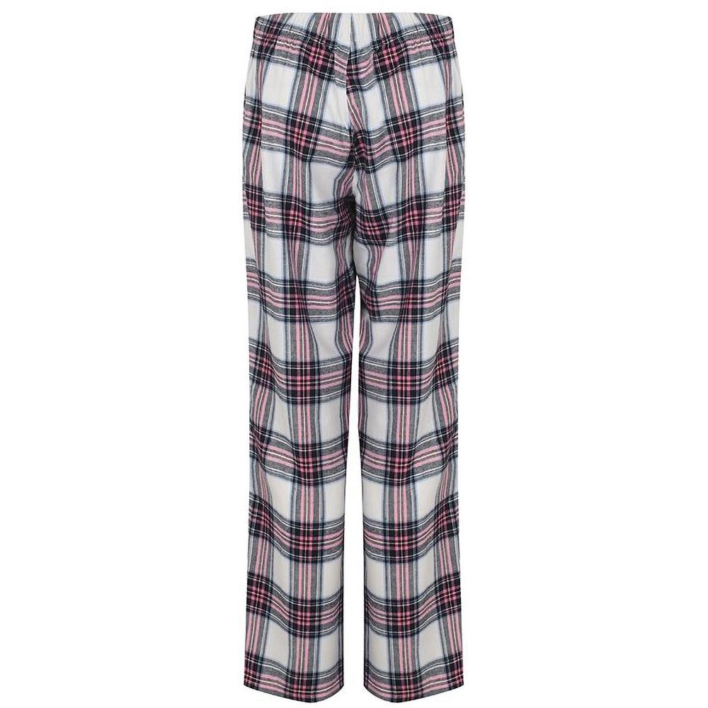 Skinnifit-Pantalon-de-pyjama-Tartan-femme-RW6025 miniature 4