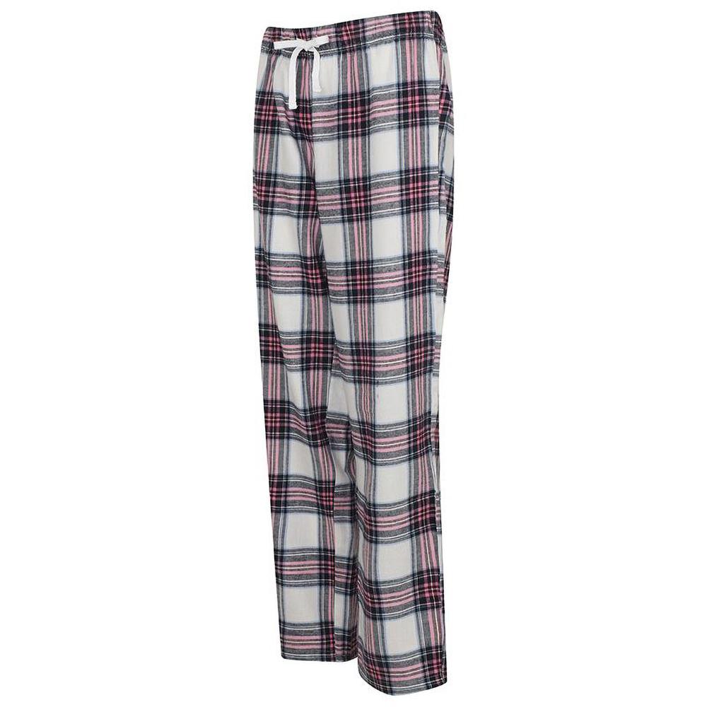 Skinnifit-Pantalon-de-pyjama-Tartan-femme-RW6025 miniature 5