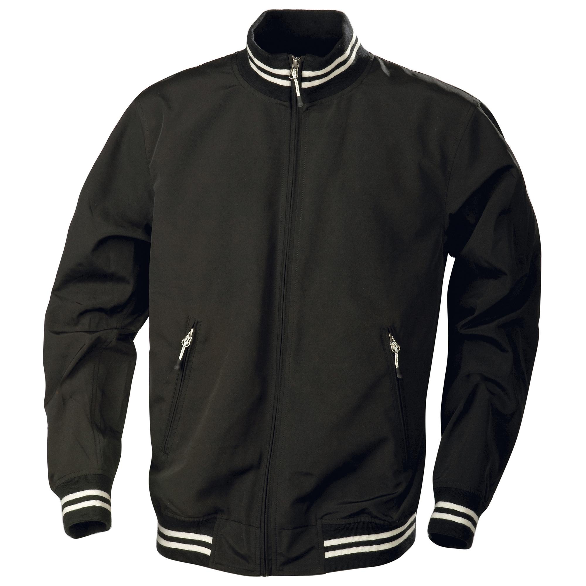 Harvest Garland Mens Water Repellent Summer Jacket (XS) (Black)