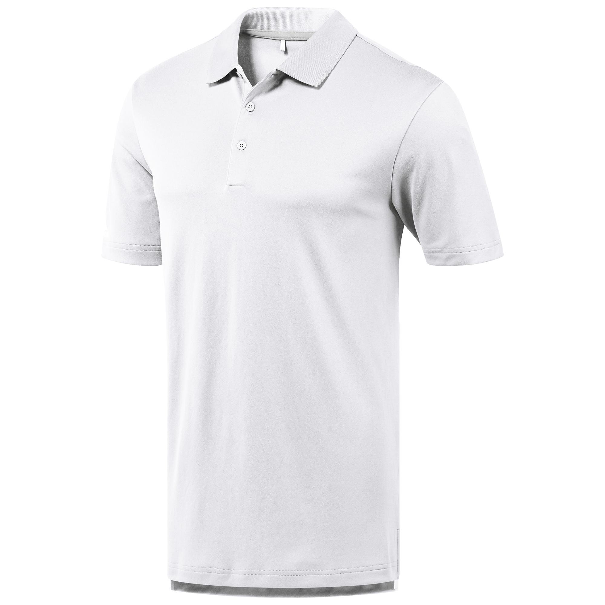 Adidas Mens Performance Polo Shirt (M) (White)
