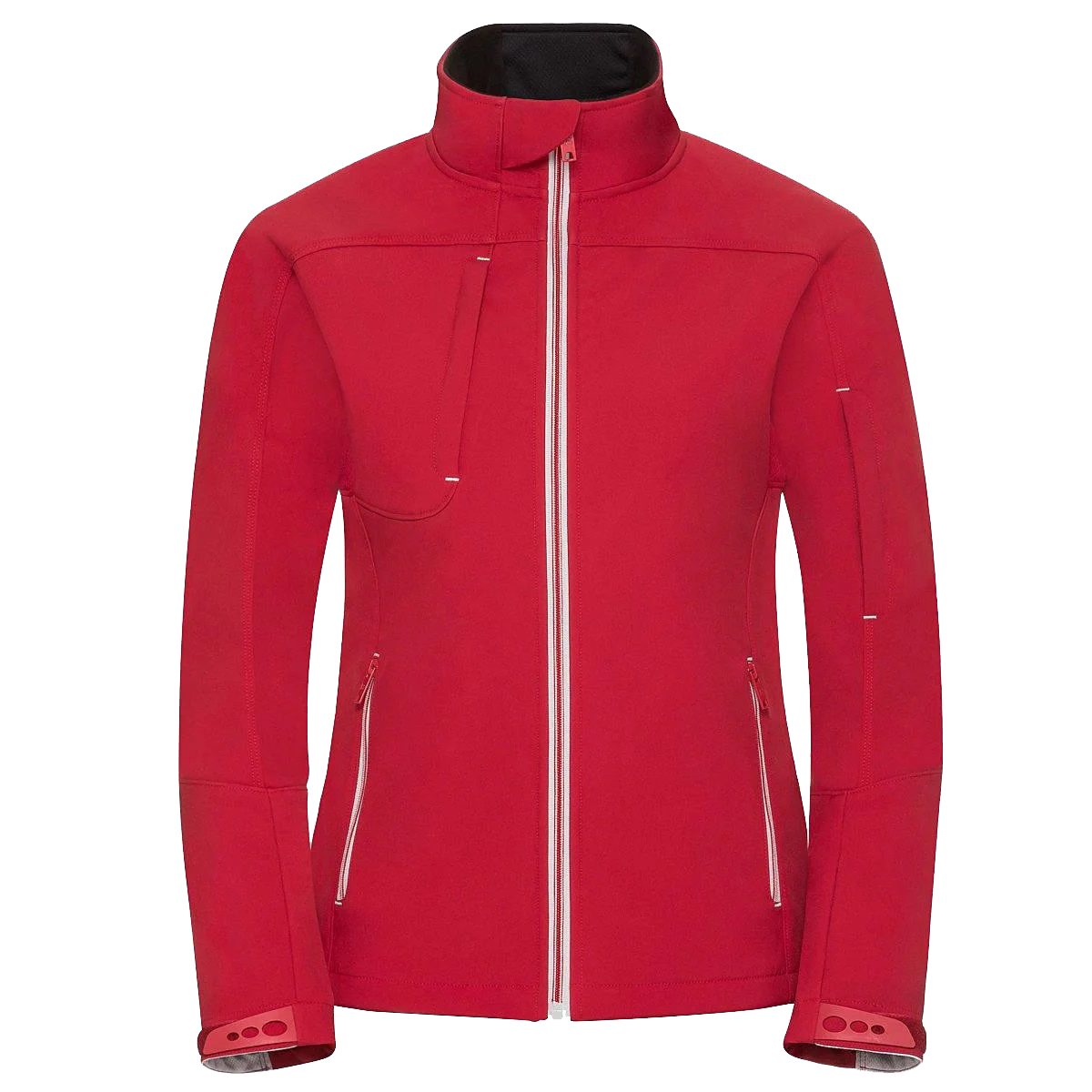 Russell Women/Ladies Bionic Softshell Jacket (L) (Classic Red)