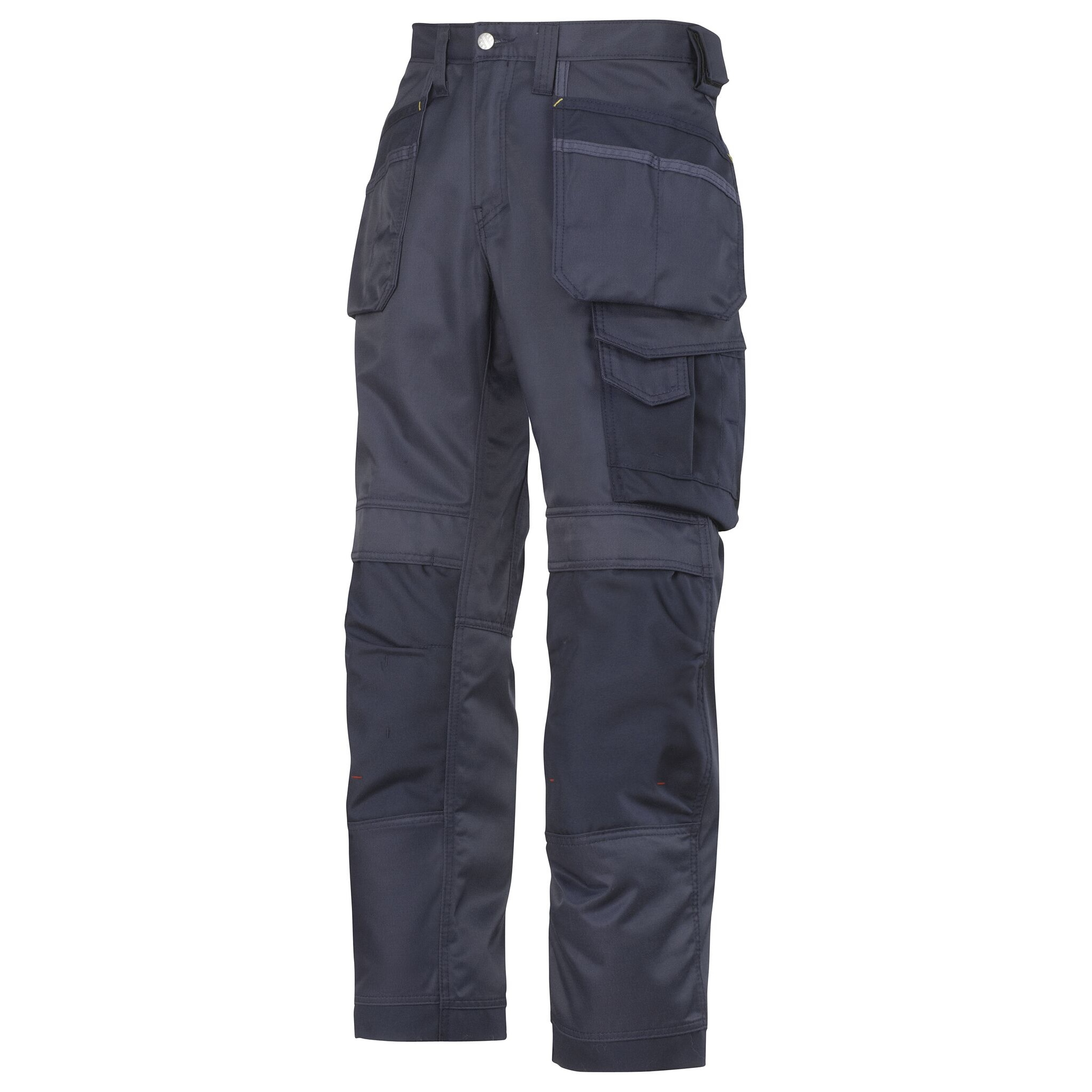 Snickers Mens DuraTwill Craftsmen Trousers (30S) (Navy/Black)