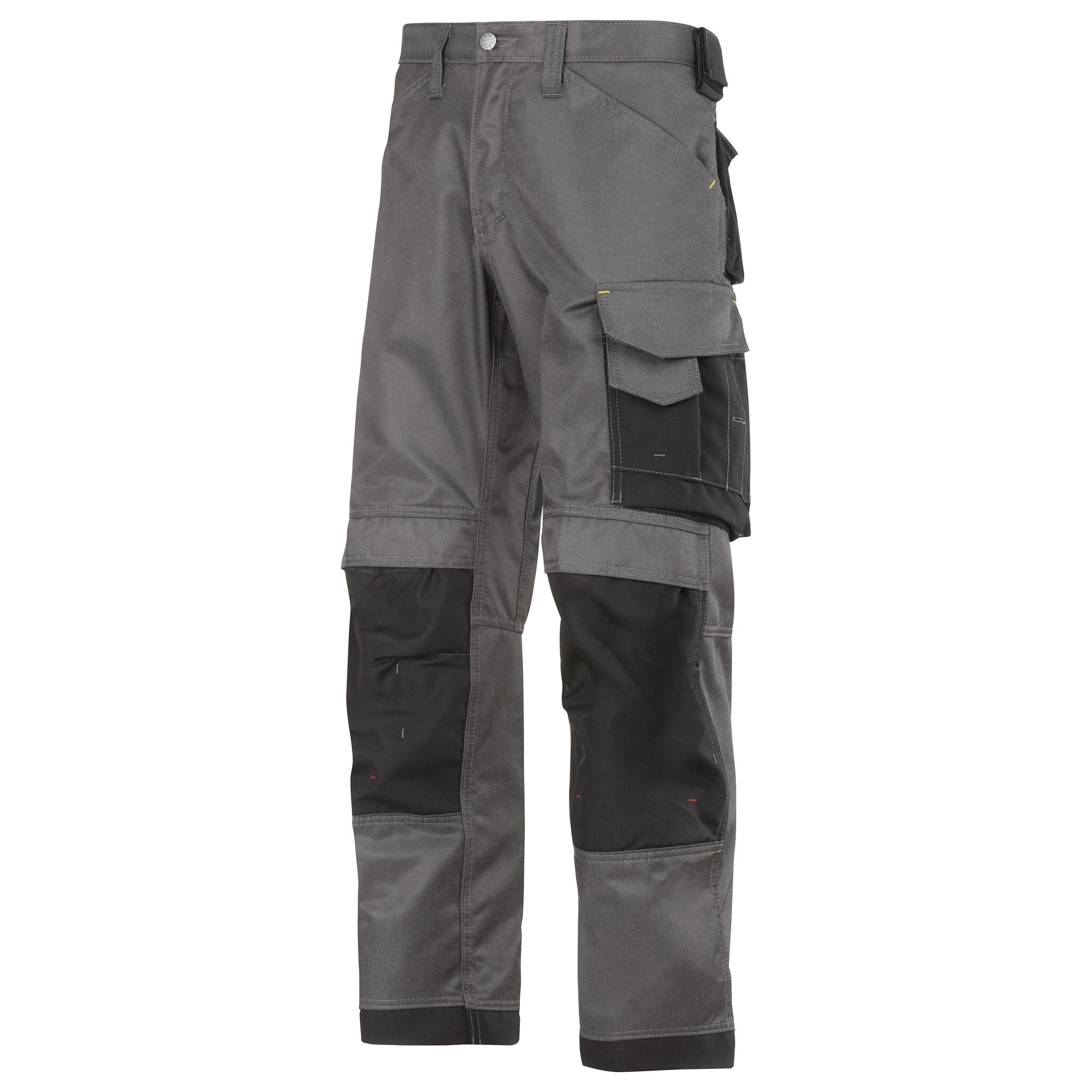 Snickers Mens DuraTwill Craftsmen Non Holster Trousers (38S) (Muted Black/Black)