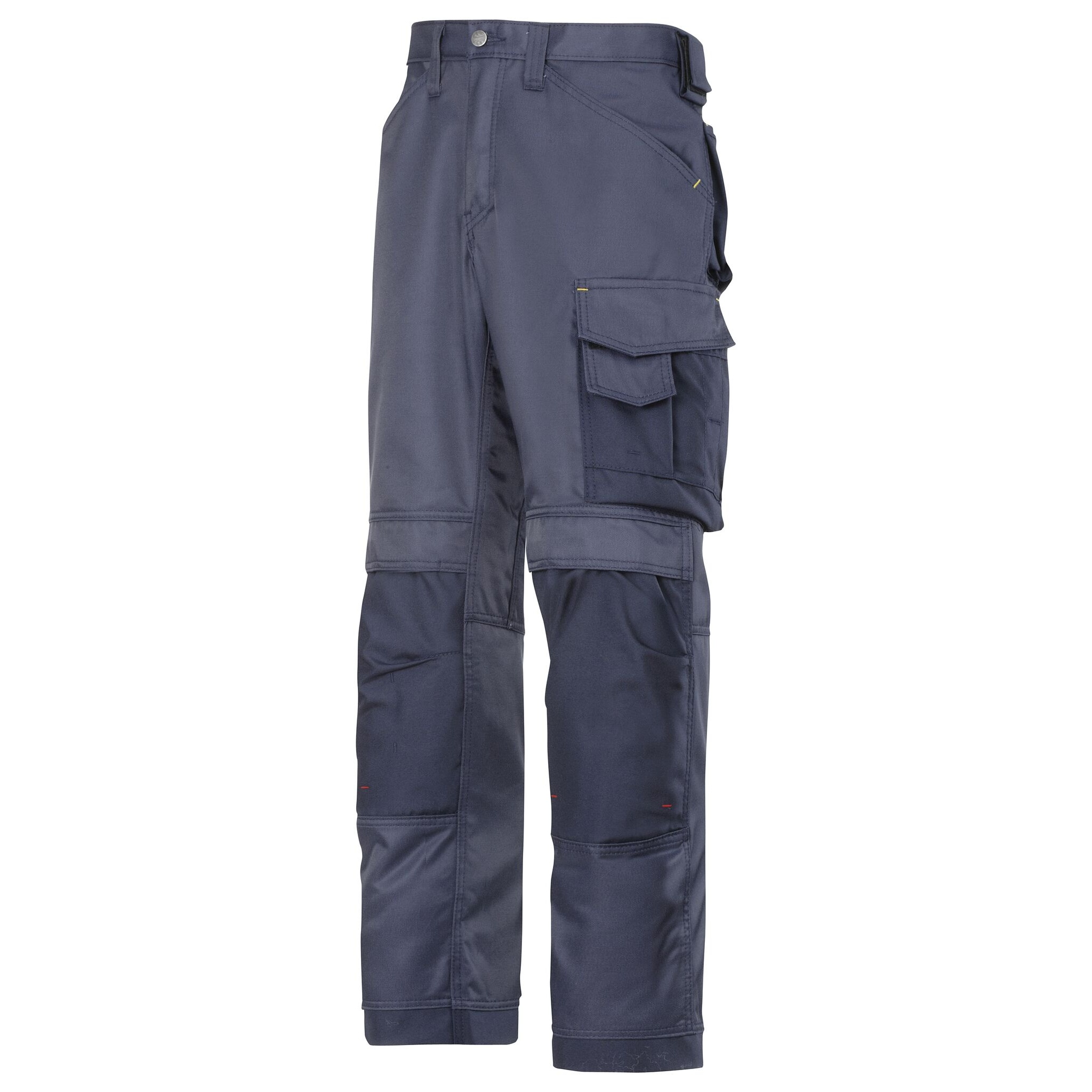 Snickers Mens DuraTwill Craftsmen Non Holster Trousers (31R) (Navy/Black)