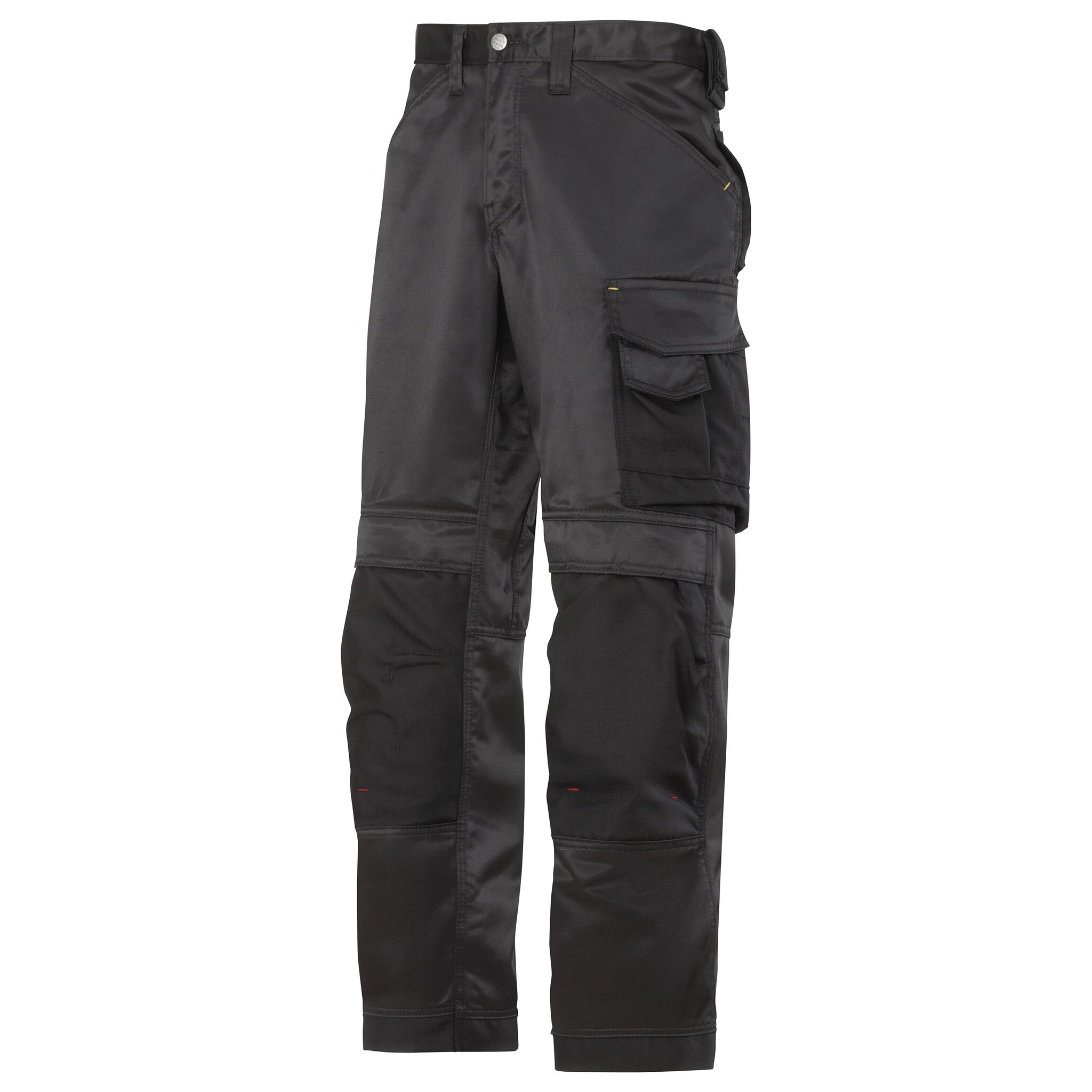 Snickers Mens DuraTwill Craftsmen Non Holster Trousers (30R) (Black)