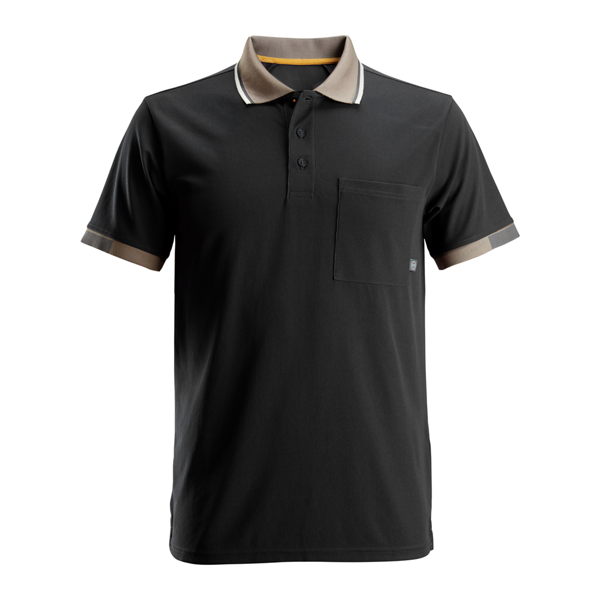 Snickers Mens AllroundWork 37.5 Tech Short Sleeve Polo Shirt (M) (Black)
