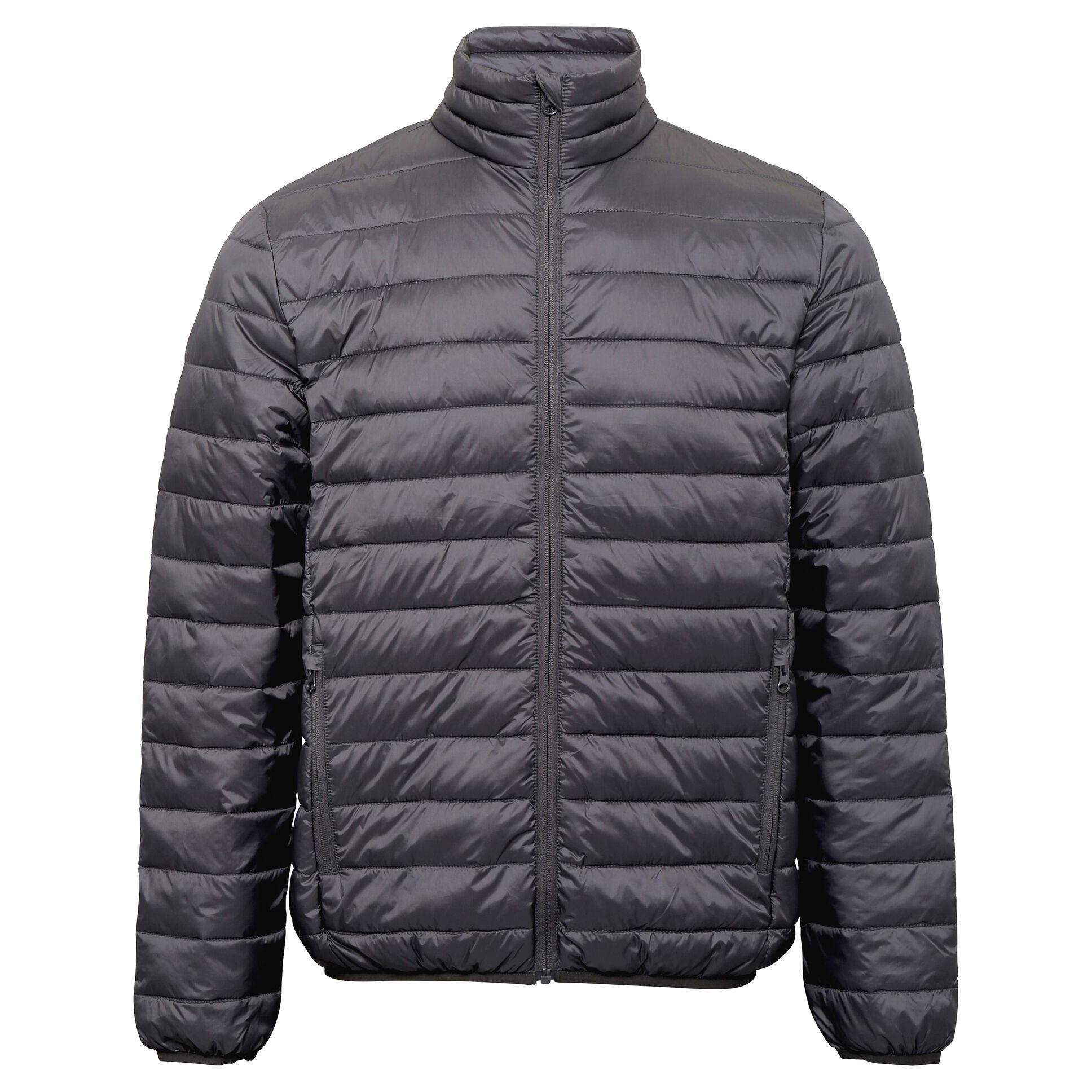 2786 Mens Terrain Long Sleeves Padded Jacket (S) (Steel)