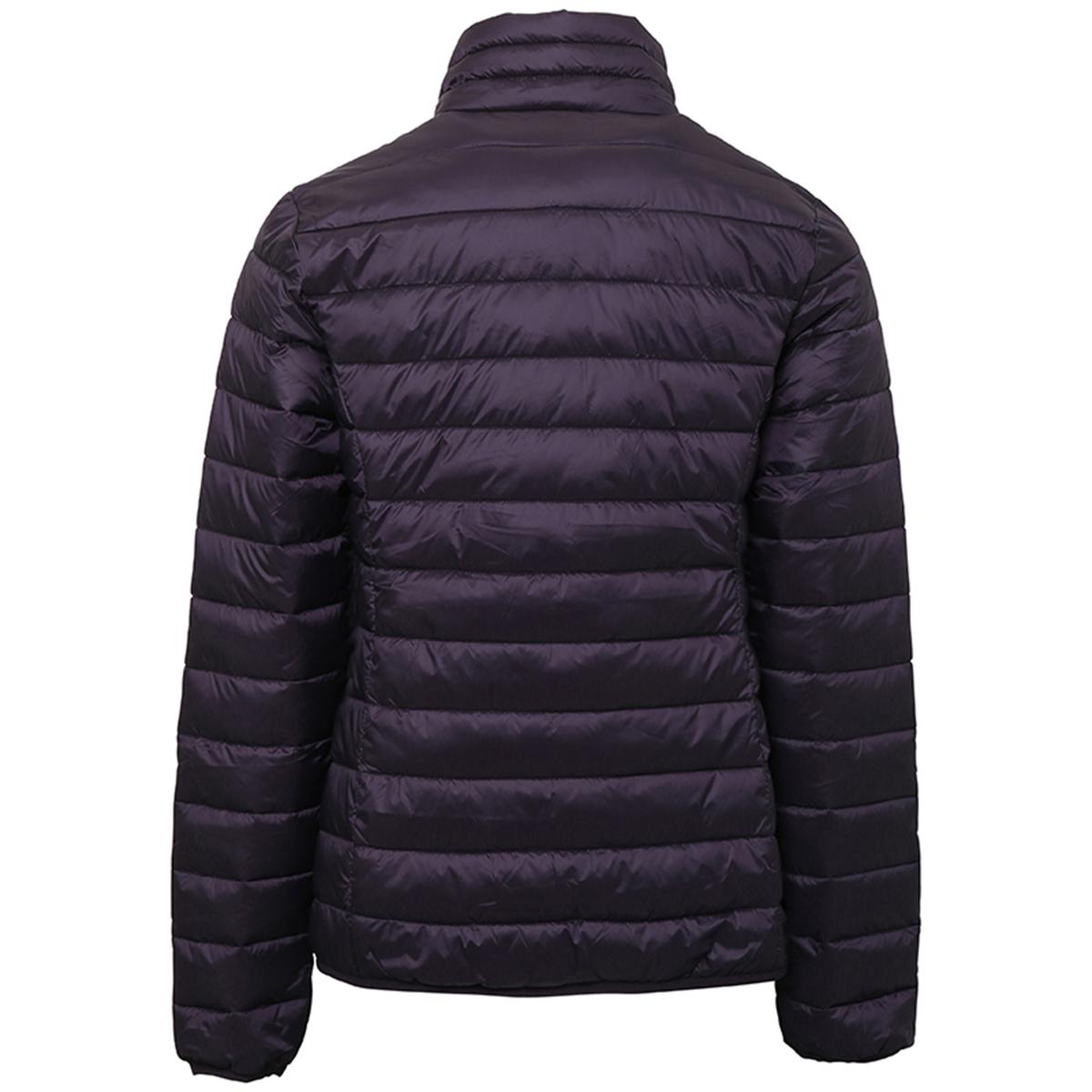 2786 Womens/Ladies Terrain Long Sleeves Padded Jacket (XS) (Black)