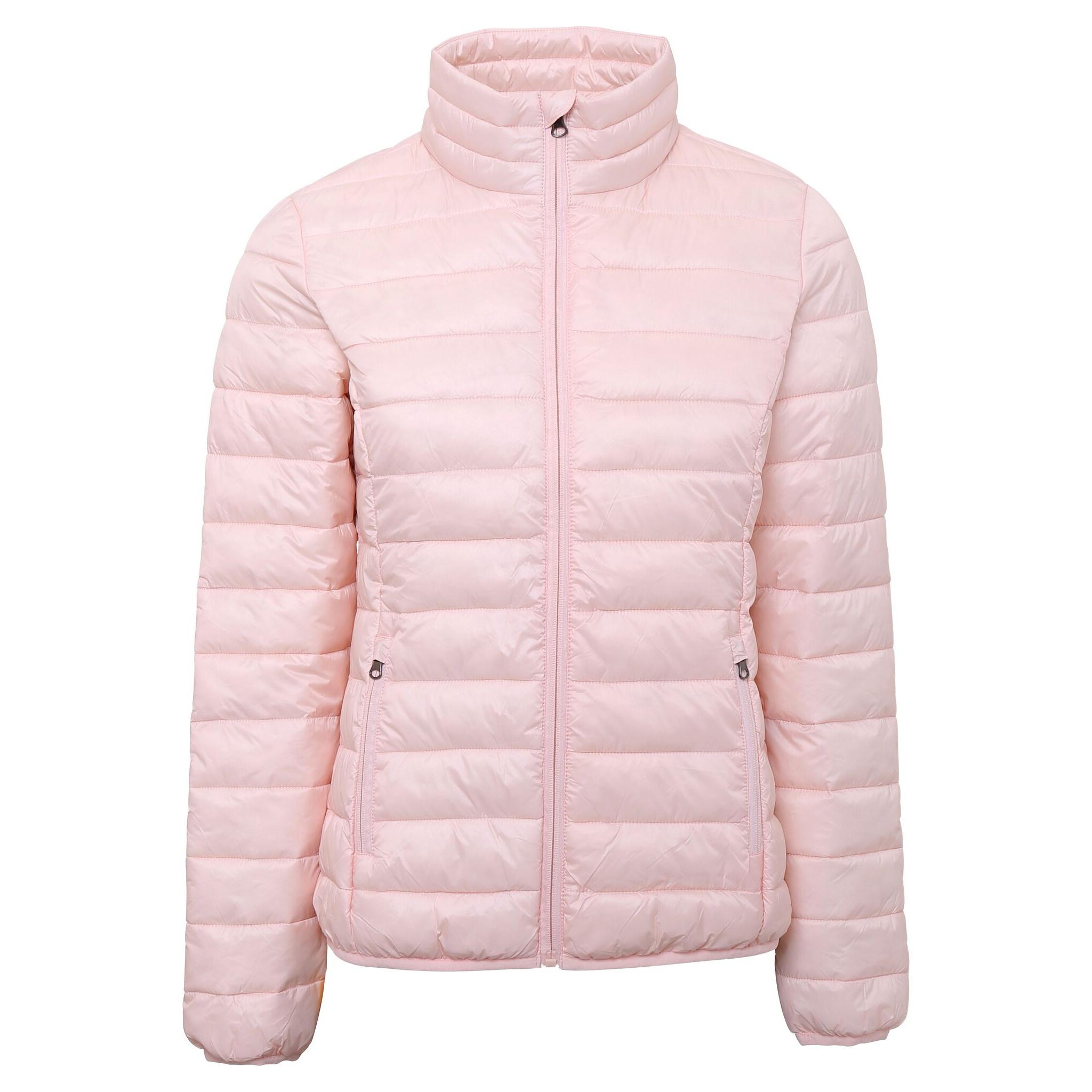 2786 Womens/Ladies Terrain Long Sleeves Padded Jacket (XL) (Navy)