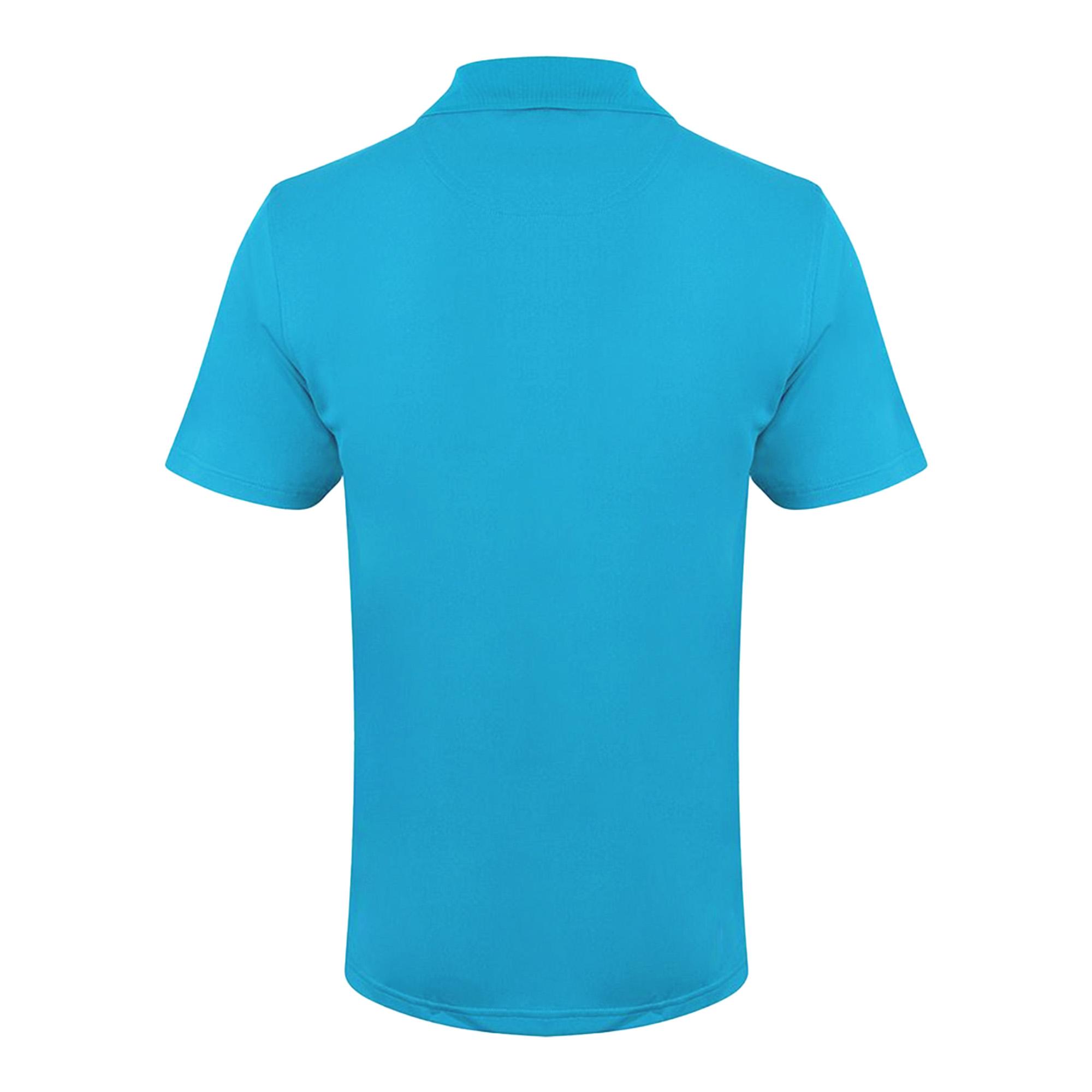 Henbury Mens Coolplus® Pique Polo Shirt (S) (Charcoal Grey)
