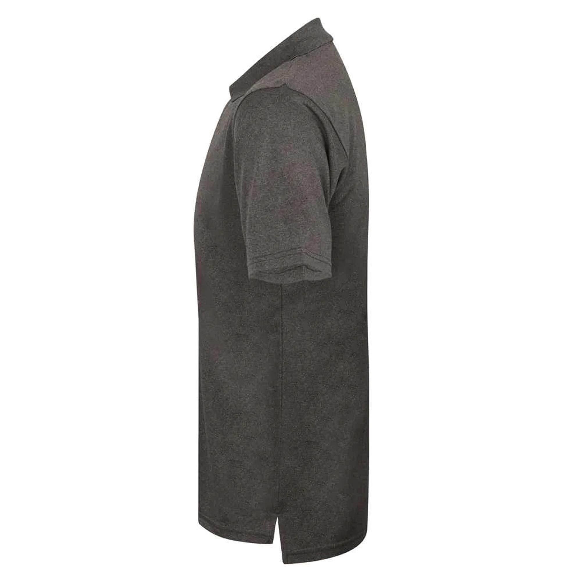 Henbury Mens Coolplus® Pique Polo Shirt (XL) (Bright Jade)