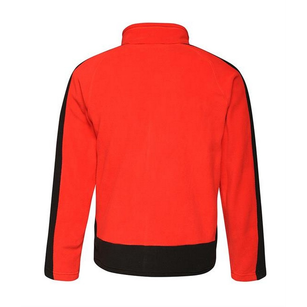 Regatta Contrast Mens 300 Fleece Top/Jacket (XL) (New Royal/Navy)