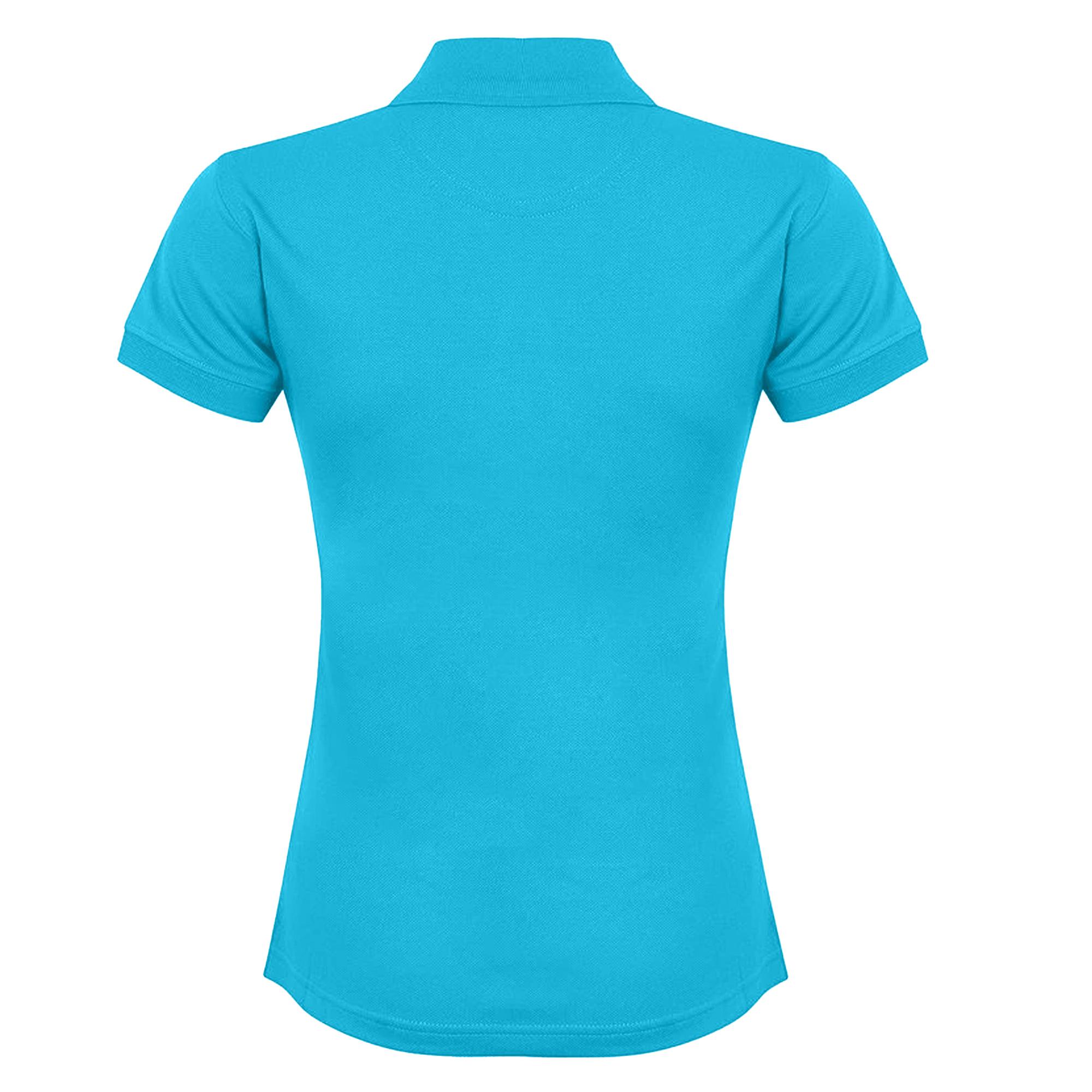 Henbury Womens/Ladies Coolplus® Fitted Polo Shirt (2XL) (Yellow)