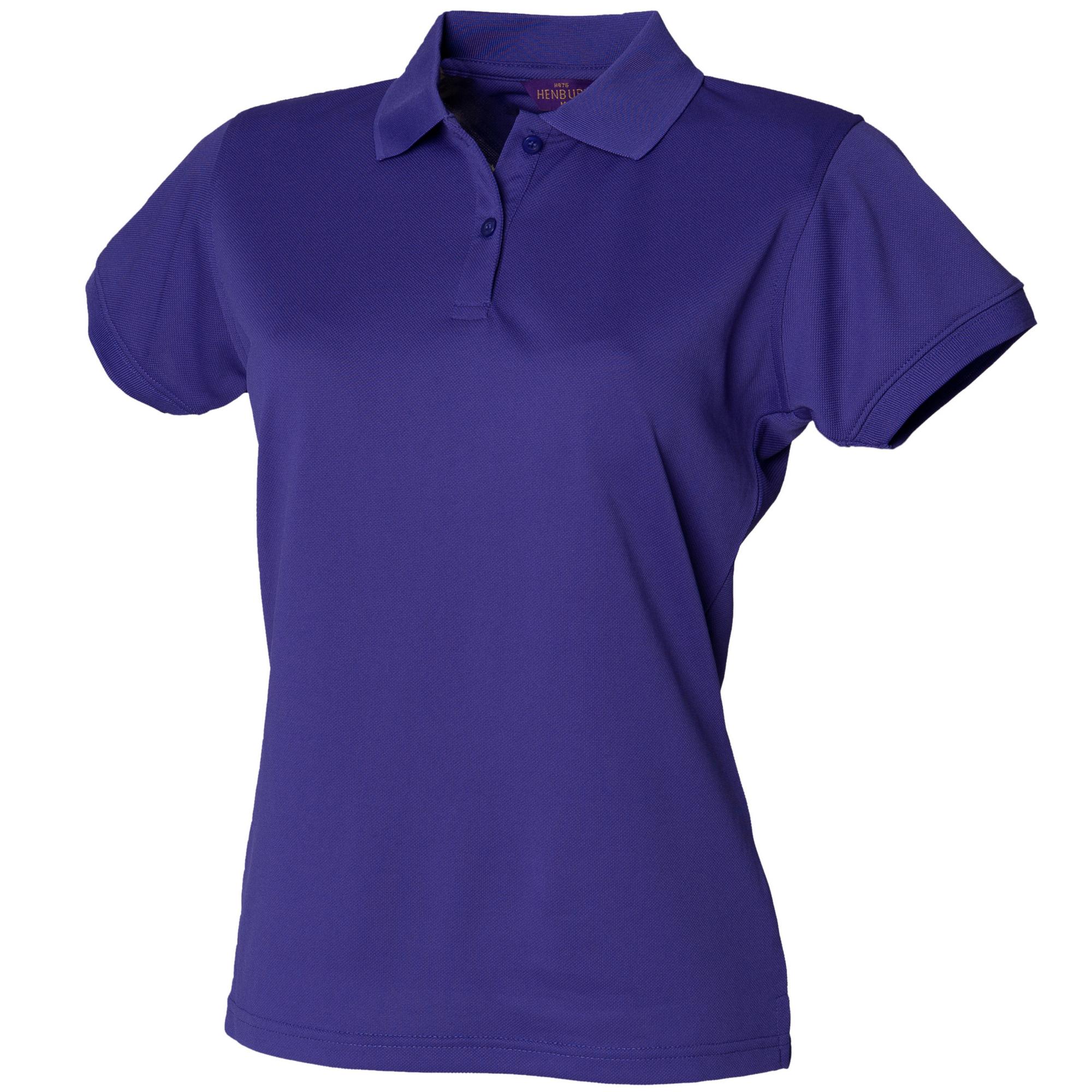 Henbury Womens/Ladies Coolplus Fitted Polo Shirt | eBay