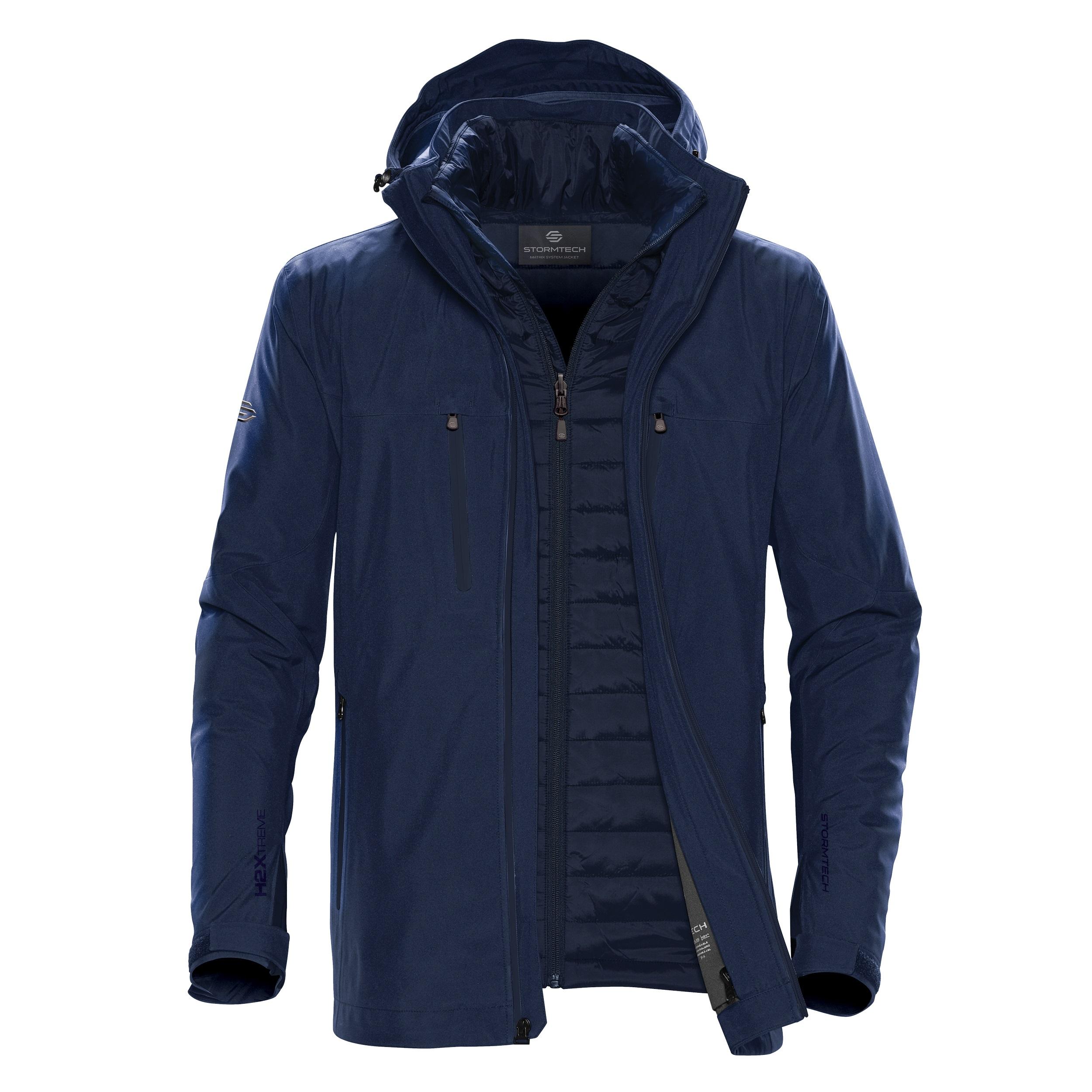 Stormtech Mens Matrix System Jacket (M) (Navy/Navy)